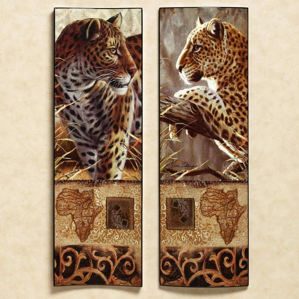 Superb Amazing Ideas Safari Wall Art African Decor U2013 Wall Art Ideas Inside Most  Current Safari Metal