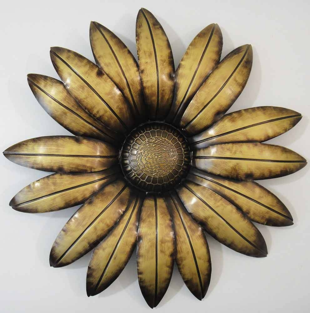 Amazing Metal Flower Wall Art Nz Flower Metal Wall Art Metal Throughout Most Popular Flower Metal Wall Art Decor (View 16 of 20)