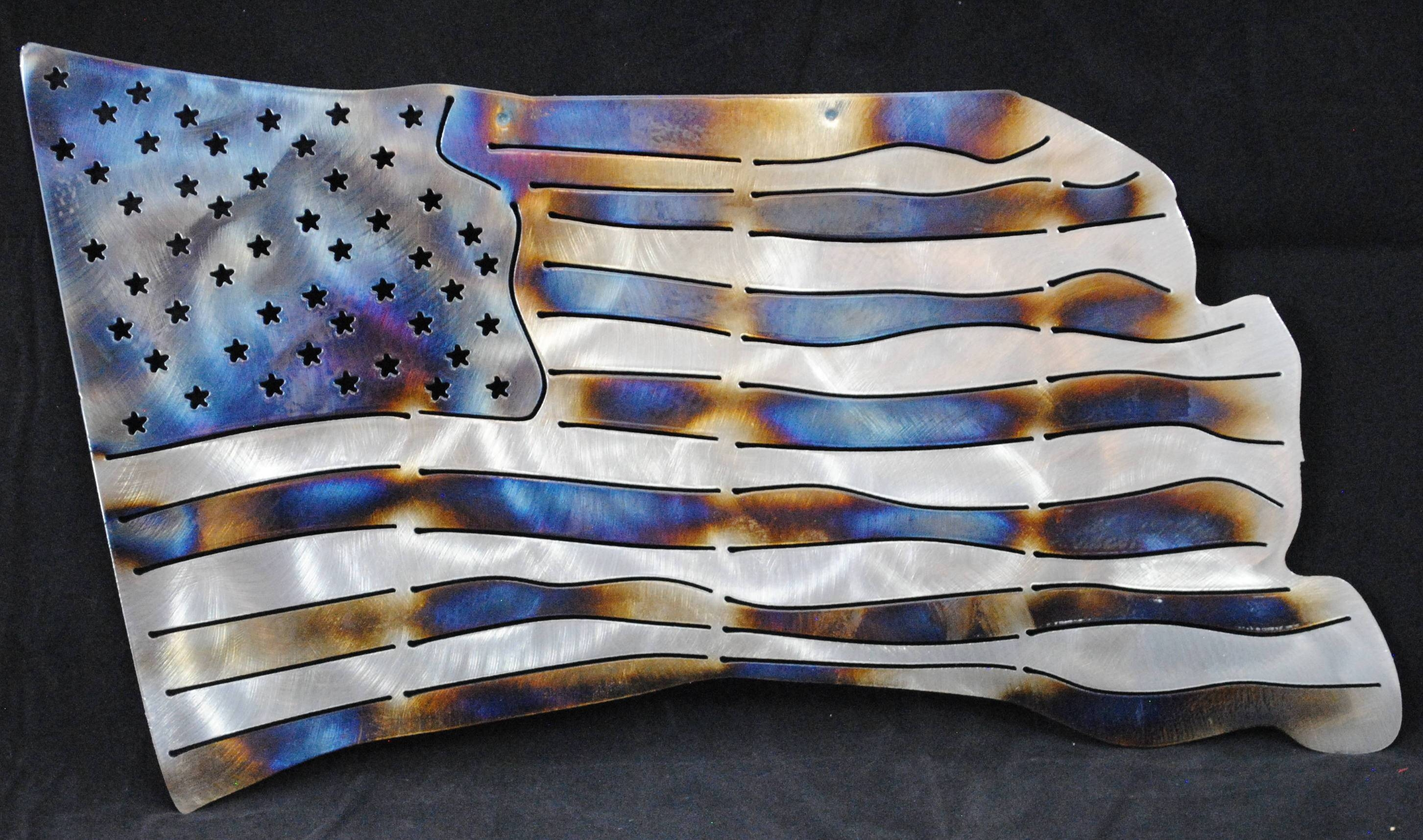 American Flag United States Flag Usa Patriotic Flag With Latest American Flag Metal Wall Art (View 16 of 20)