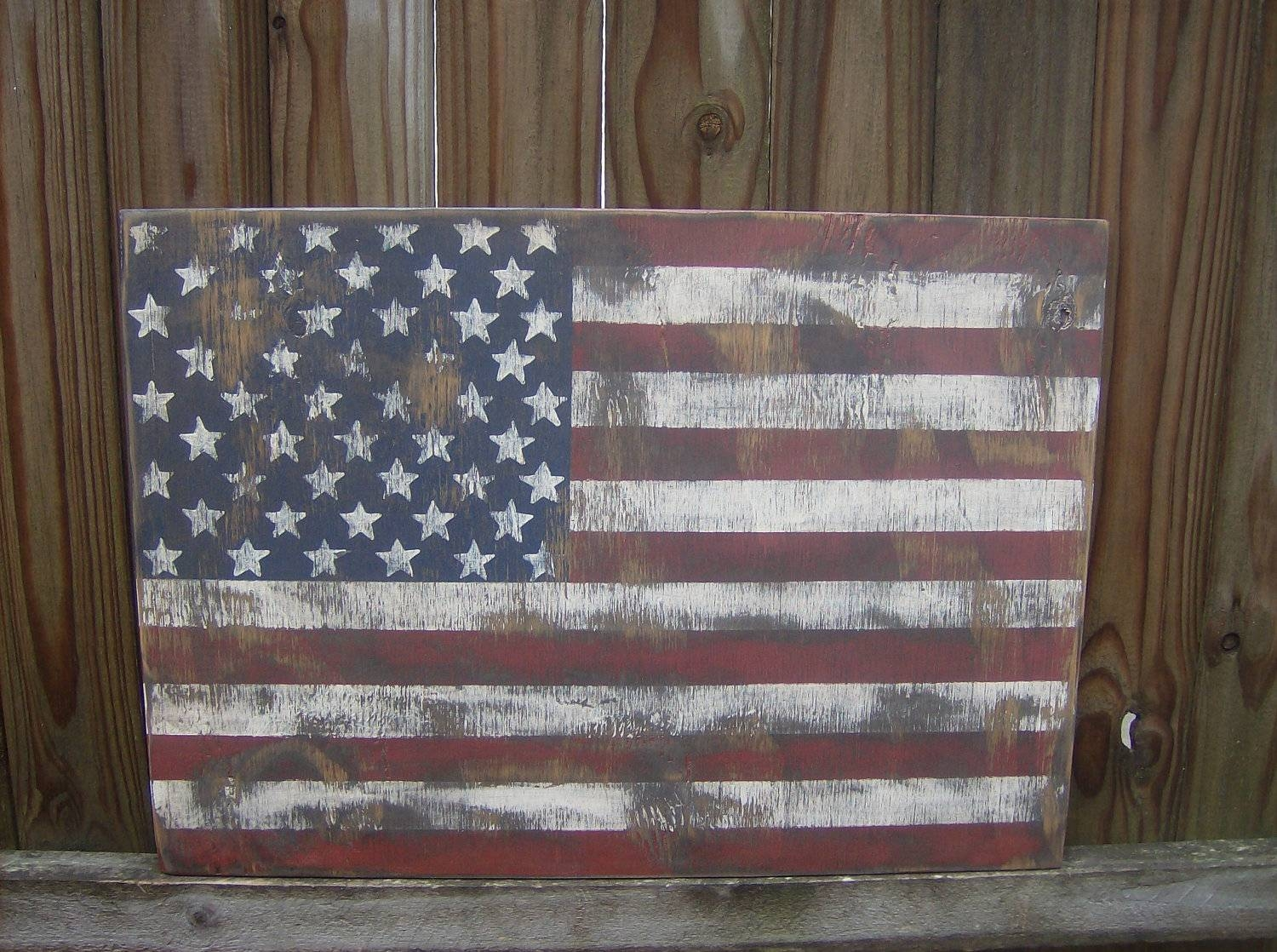 American Flag Wall Decor Ideas — Creative Home Decoration For Most Up To Date American Flag Metal Wall Art (View 3 of 20)