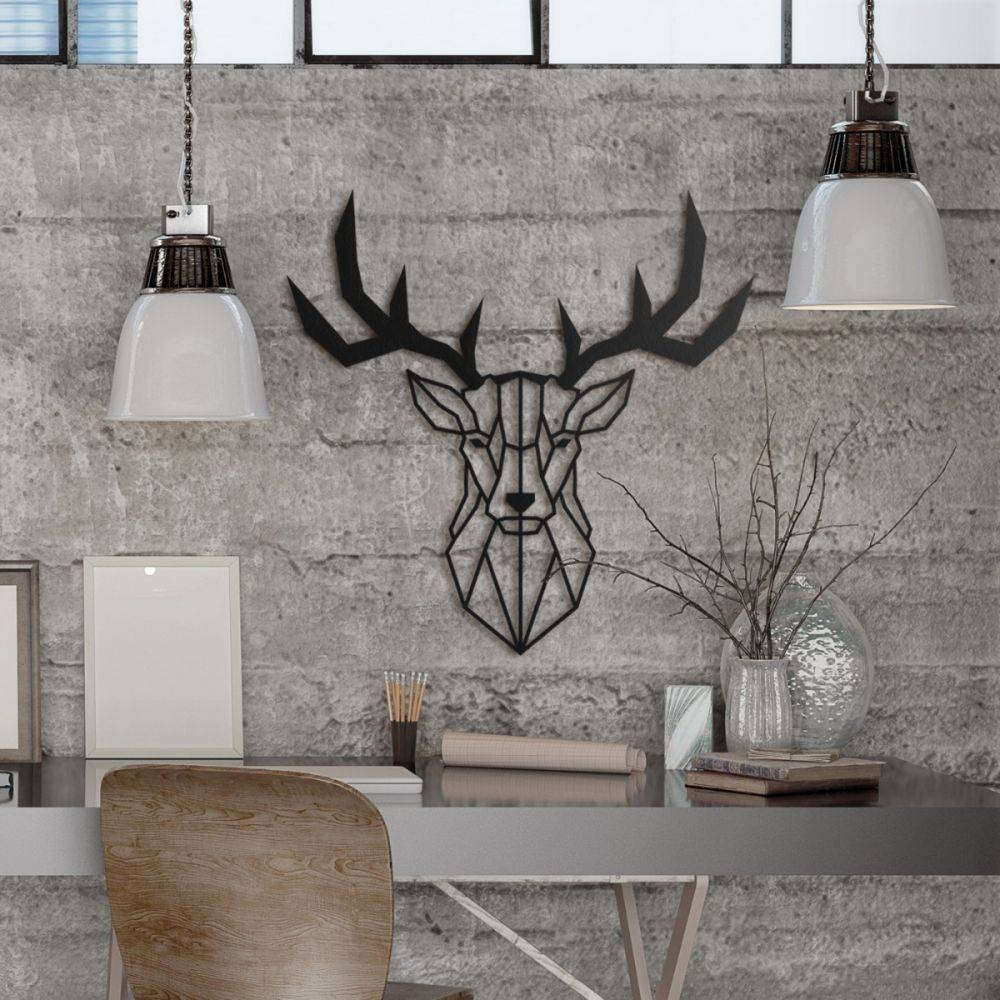Animal Metal Wall Art Pertaining To Most Popular Metal Wall Art Animals (View 6 of 20)