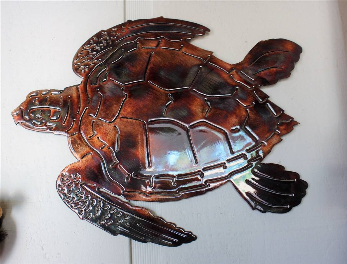 Aqst3 2 Intended For 2017 Sea Turtle Metal Wall Art (View 1 of 20)