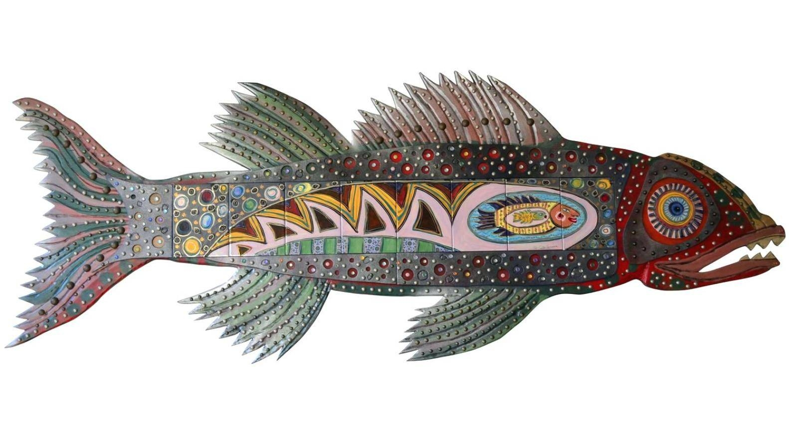 Aquascape : Fish Metal Wall Art Suppliers Metal Fish Wall Art New Pertaining To Most Popular New Zealand Metal Wall Art (View 17 of 20)
