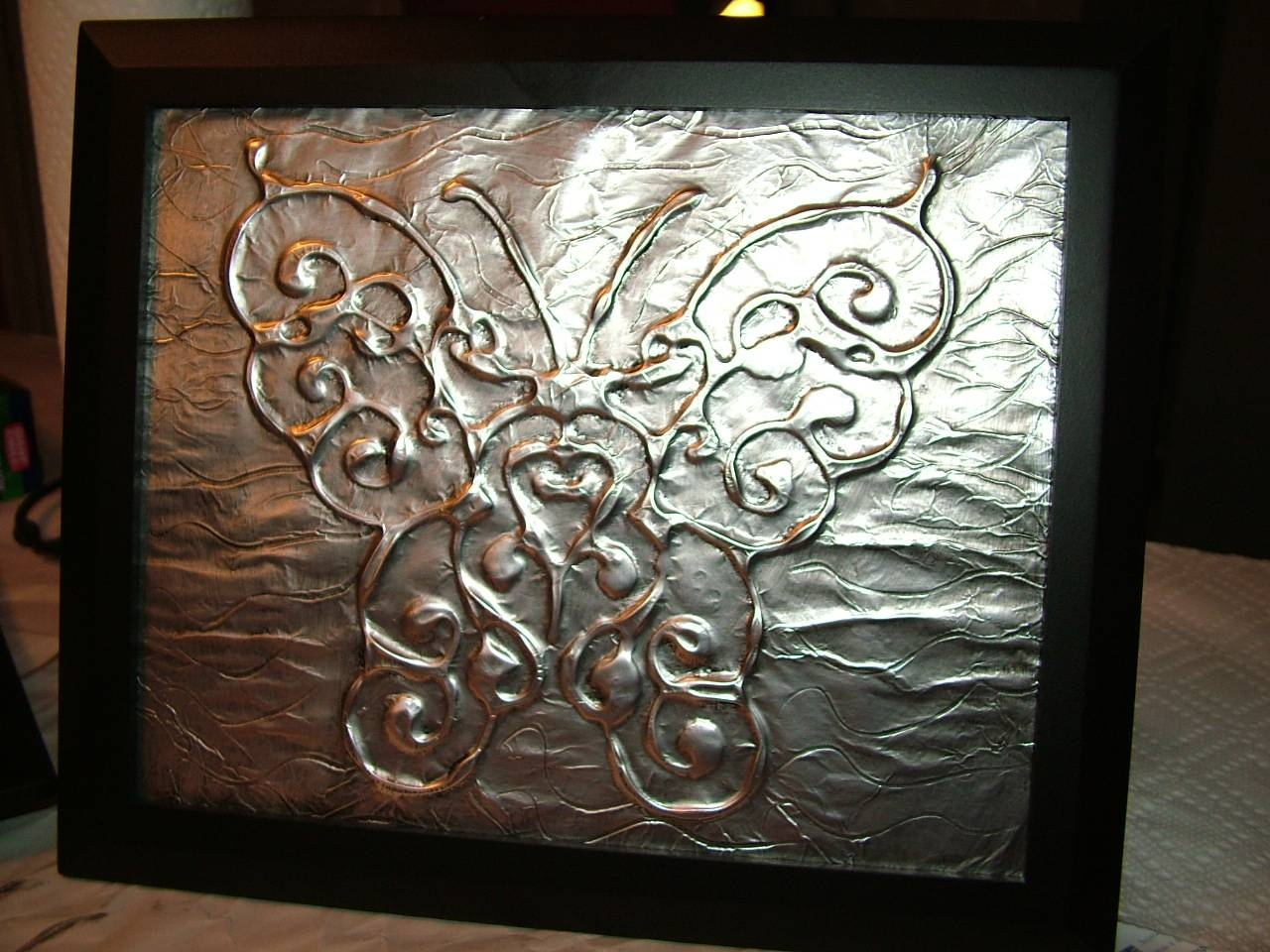 Art: Diy Metal Wall Art Intended For Current Faux Metal Wall Art (View 1 of 20)