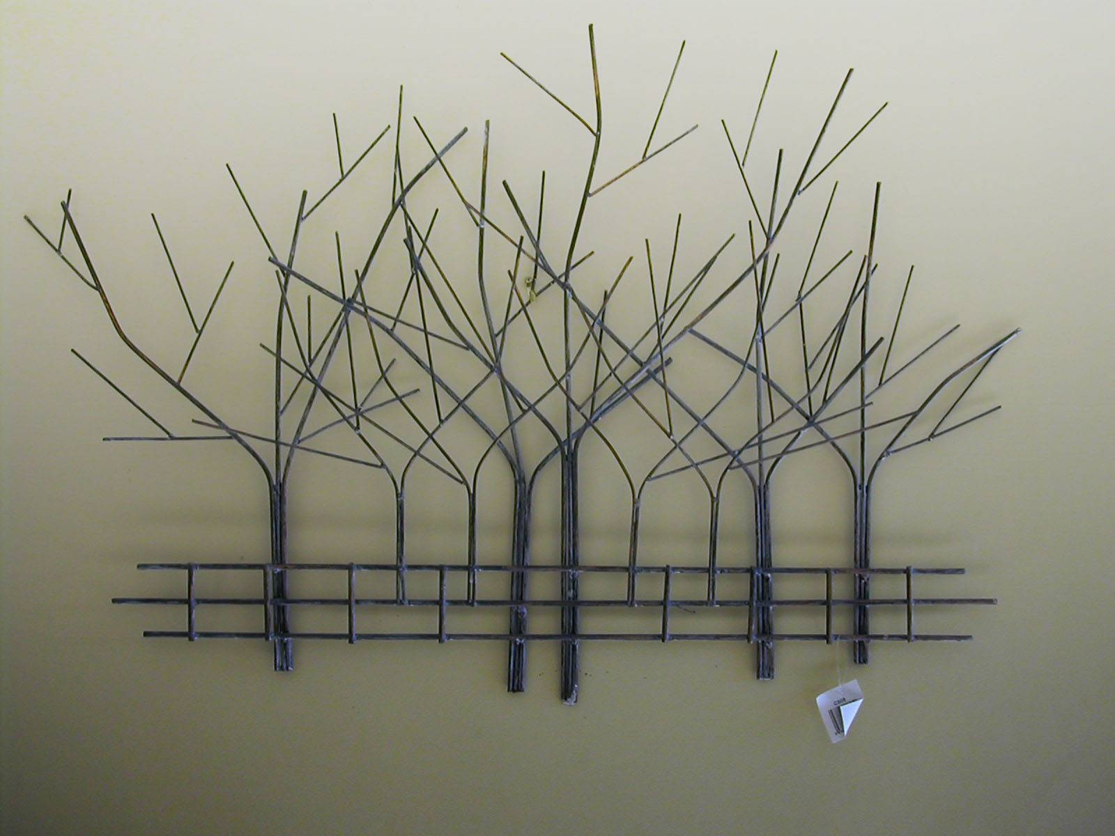 Art Sculptures For Home, Metal Tree Wall Art Metal Wall Art Intended For Most Popular Metal Wall Art Trees (View 3 of 20)