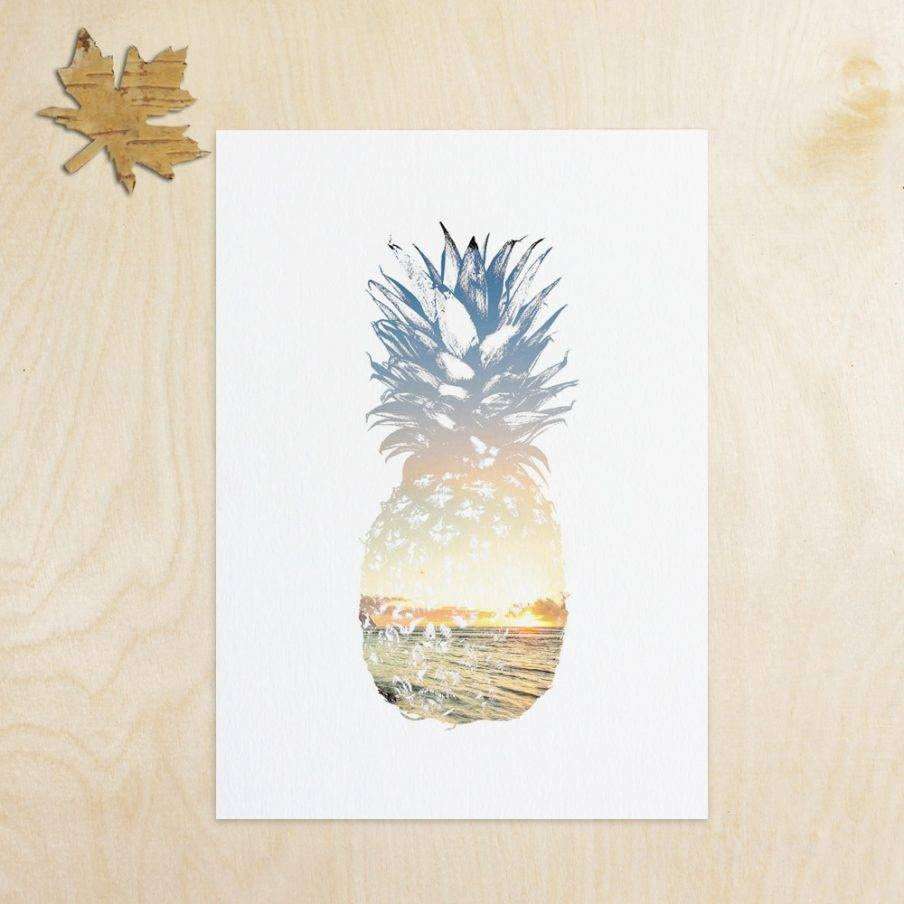 Articles With Pineapple Metal Wall Art Tag: Pineapple Wall Art For Most Current Pineapple Metal Wall Art (View 3 of 20)