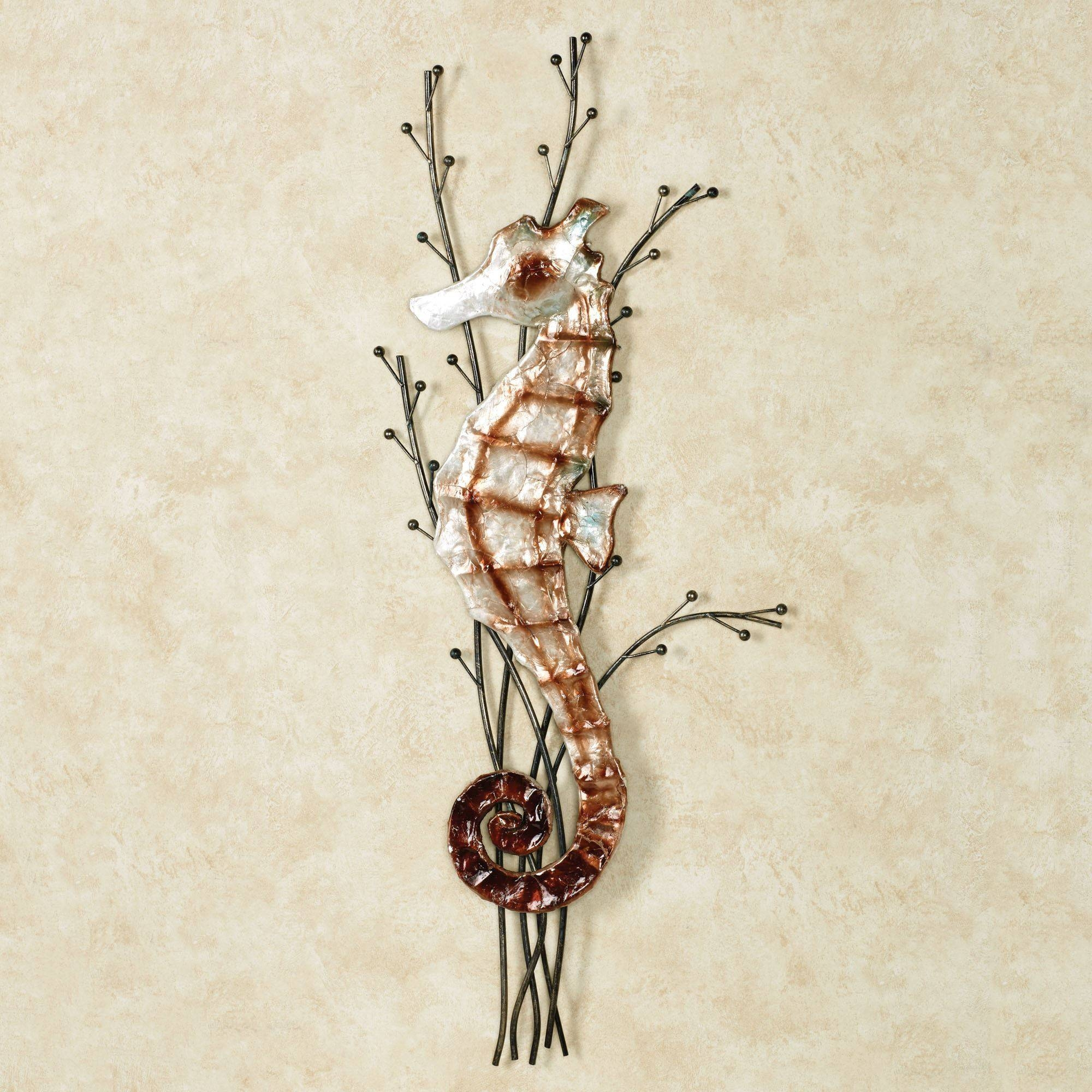 Atlantic Seahorse Metal Wall Art With Latest Seahorse Metal Wall Art (View 3 of 20)