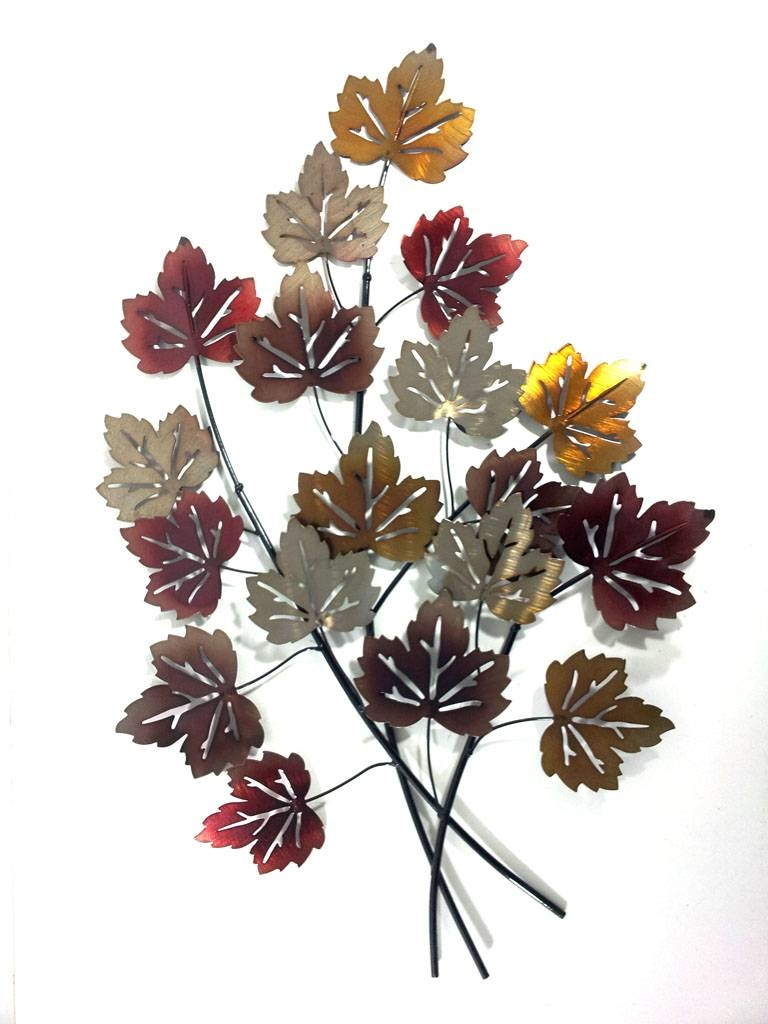 Autumn Leaf Wall Art — Crafthubs For Most Popular Metal Wall Art Leaves (View 12 of 20)