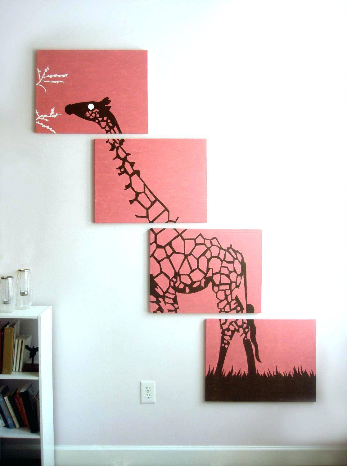 Baby Girl Giraffe Nursery – Archeology Regarding Most Popular Giraffe Metal Wall Art (View 5 of 20)
