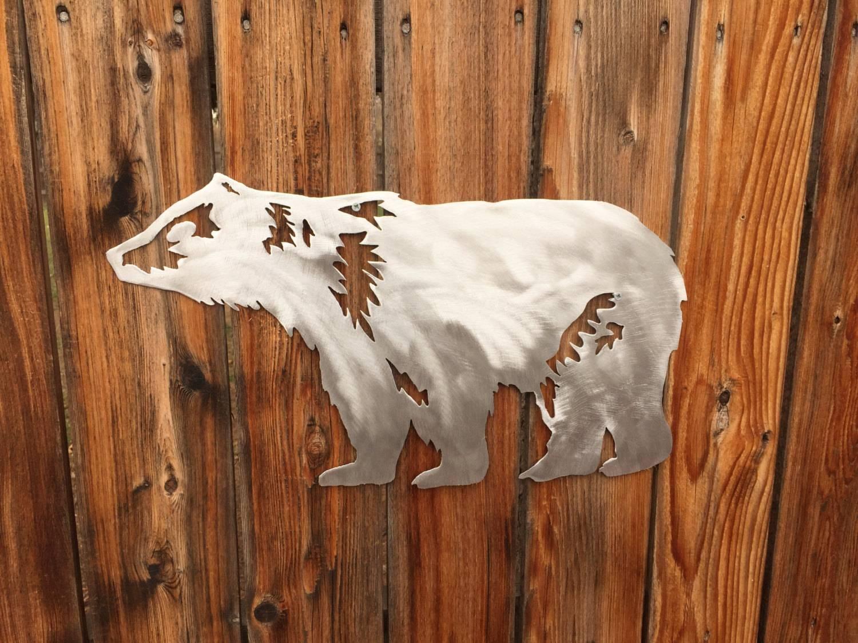 Bear Wall Art (View 10 of 20)