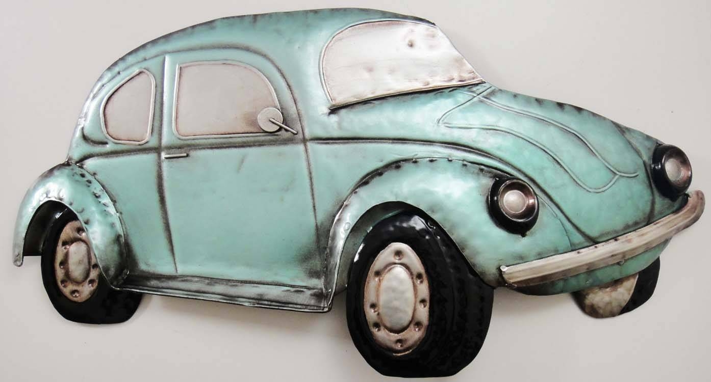 Beetle Car Metal Wall Art – Metal Wall Art Cars Online | Metal Regarding Latest Car Metal Wall Art (View 5 of 20)