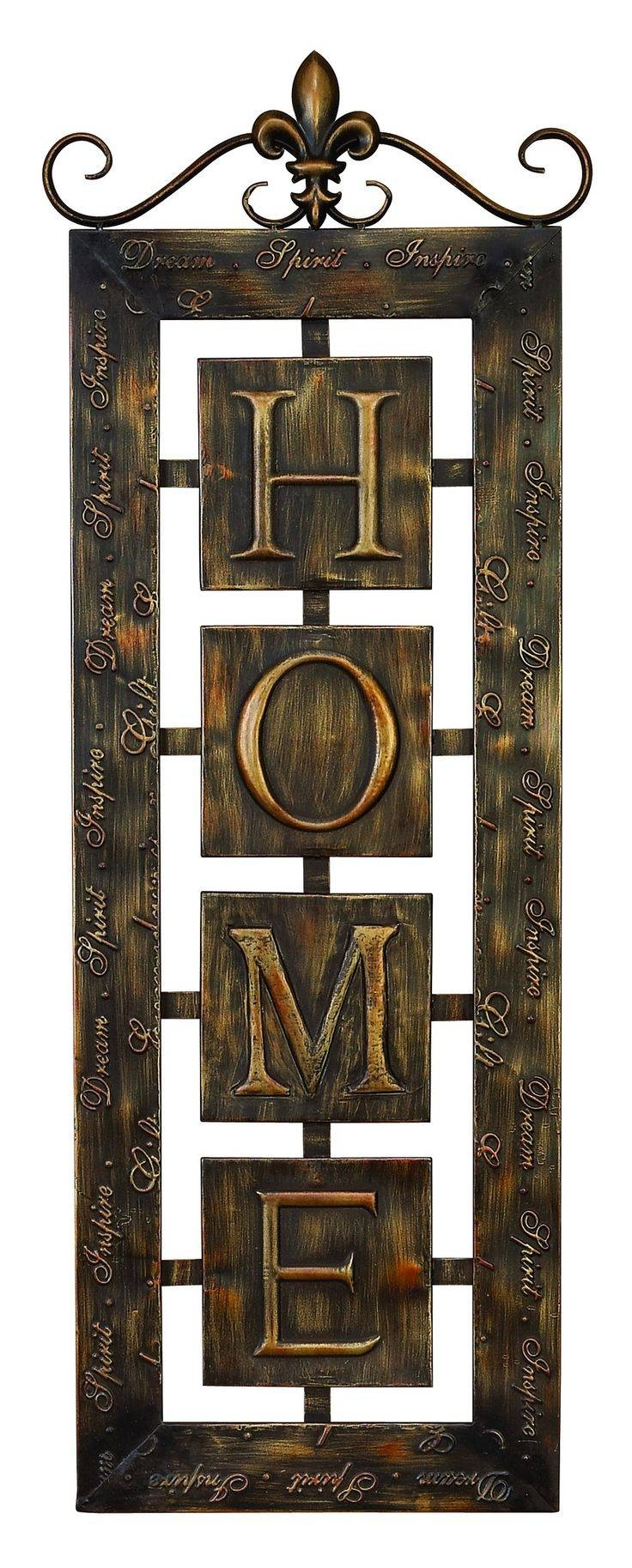 Best 25+ Metal Wall Decor Ideas On Pinterest | Metal Wall Art With Most Current Tuscan Metal Wall Art (View 2 of 20)