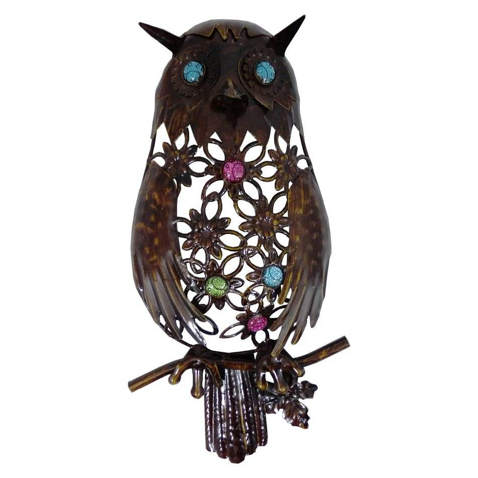 Best Design Outdoor Wall Art Ideas With Metal Art Outdoor Wall Throughout Most Current Owls Metal Wall Art (View 1 of 20)
