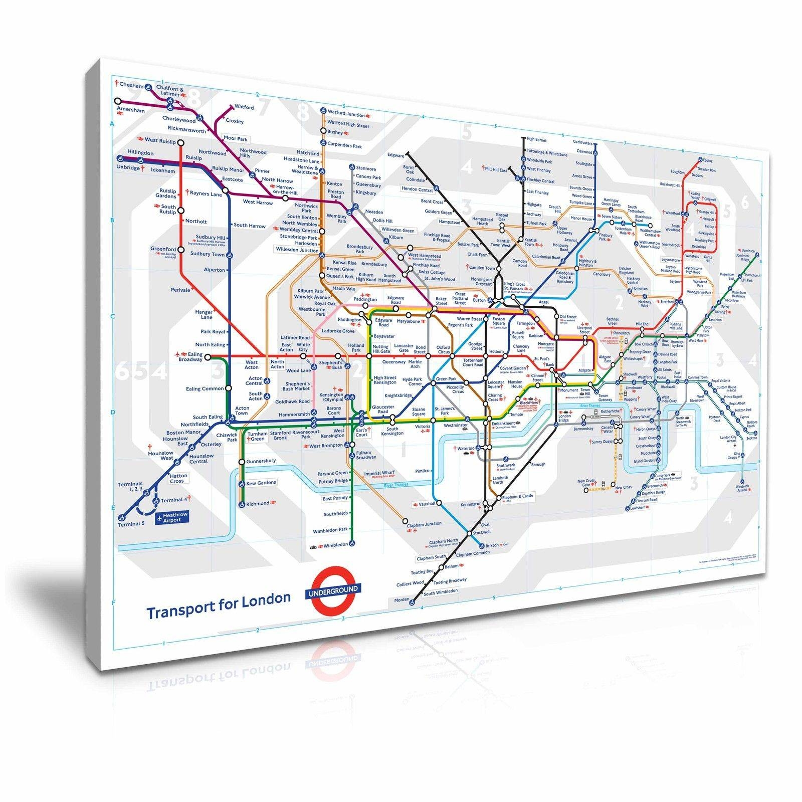 Best London Tube Map Picture Deals | Compare Prices On Dealsan.co (View 4 of 20)