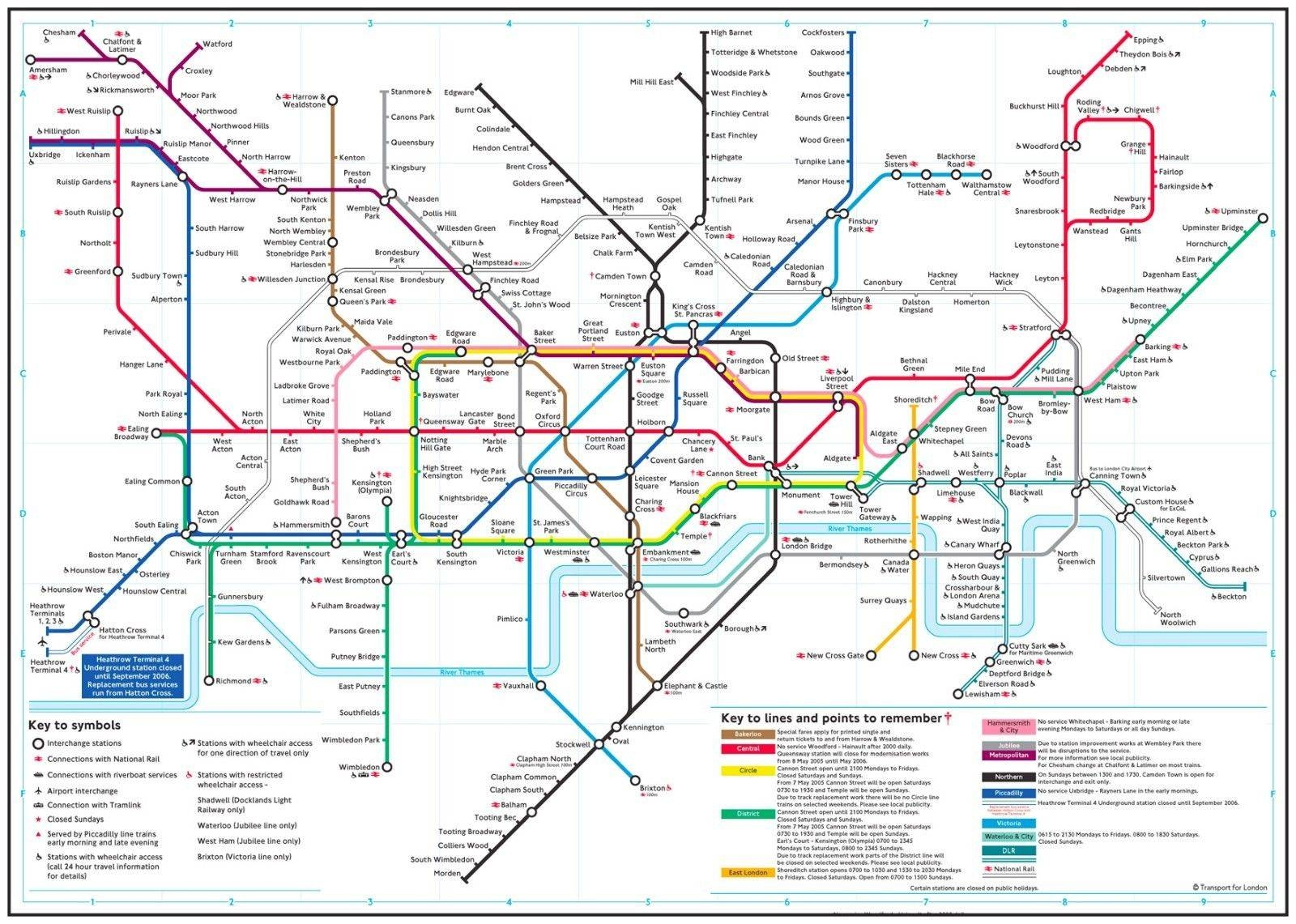 Best London Tube Map Poster Deals | Compare Prices On Dealsan.co (View 17 of 20)