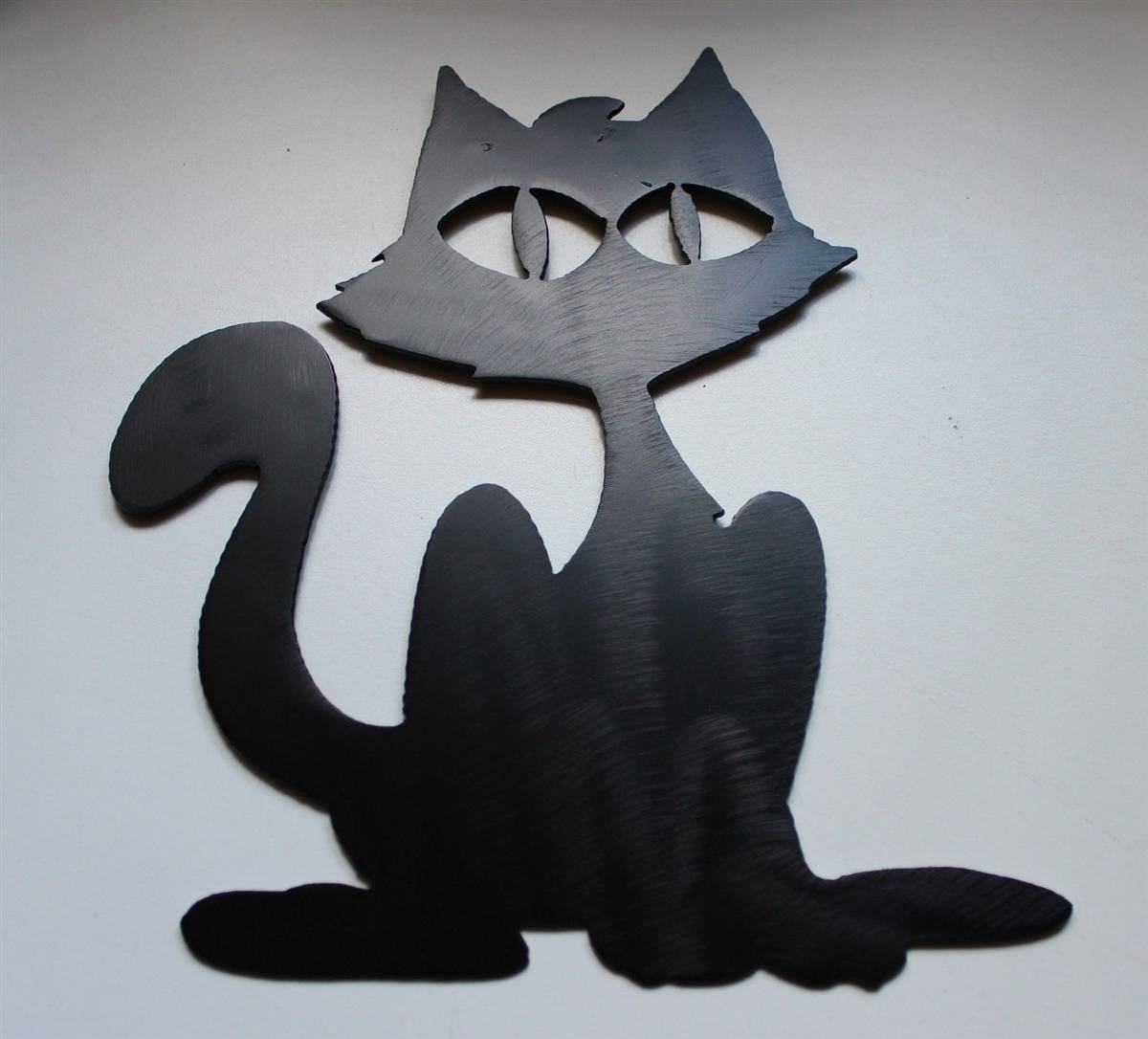 Black Cat Metal Wall Art With Regard To Latest Black Metal Wall Art (View 10 of 20)