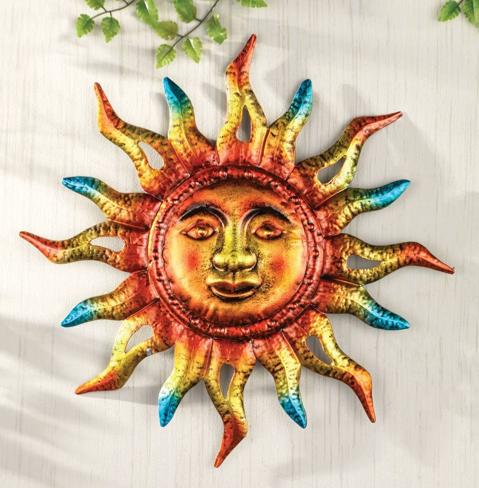 The Best Sun Metal Wall Art