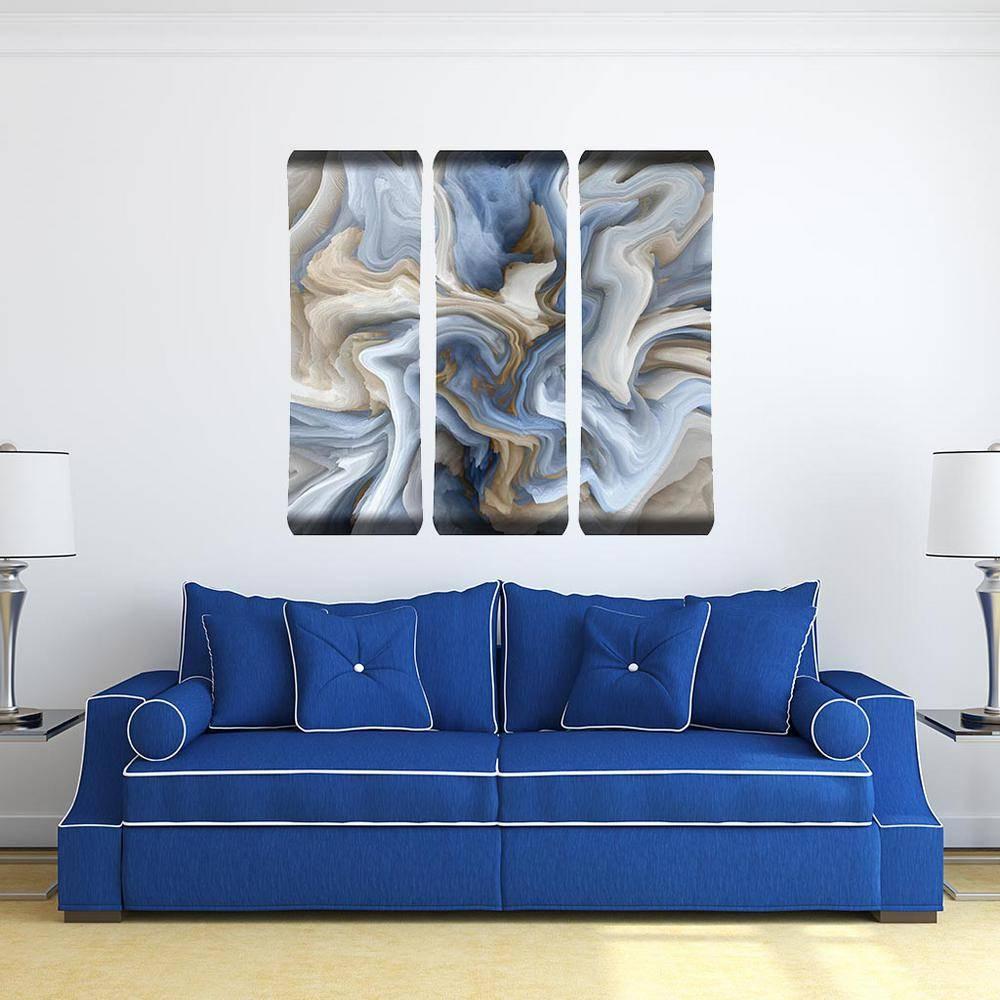 Blue Swirl Metal Wall Art 101229001 Blueswirl48X19Trip – The Home Throughout Most Recent Swirl Metal Wall Art (View 1 of 20)