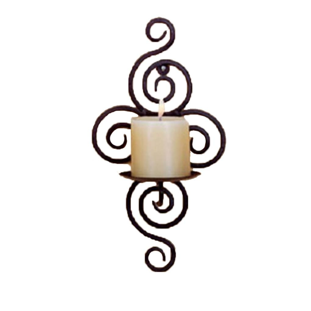 Buy Wall Candle Holders And Get Free Shipping On Aliexpress Throughout Most Recent Metal Wall Art Candle Holder (View 15 of 20)