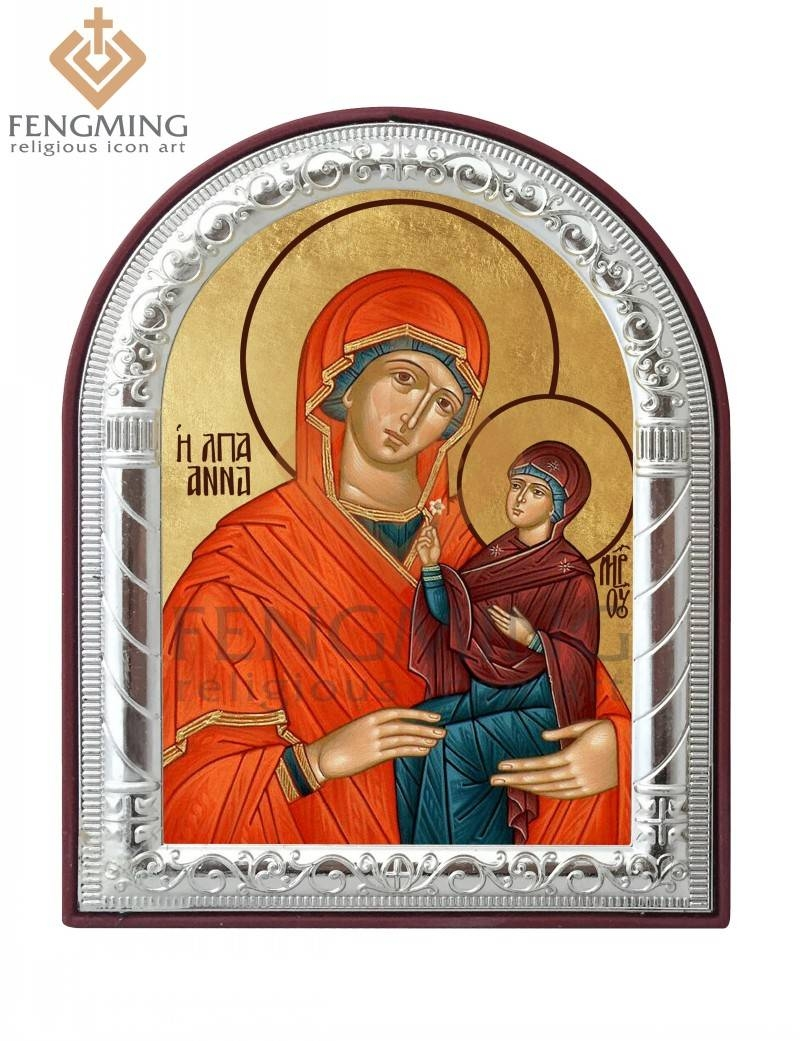 Can Custom Saint Anna Orthodox Church Supplies Religious Articles Intended For Recent Religious Metal Wall Art (View 5 of 20)