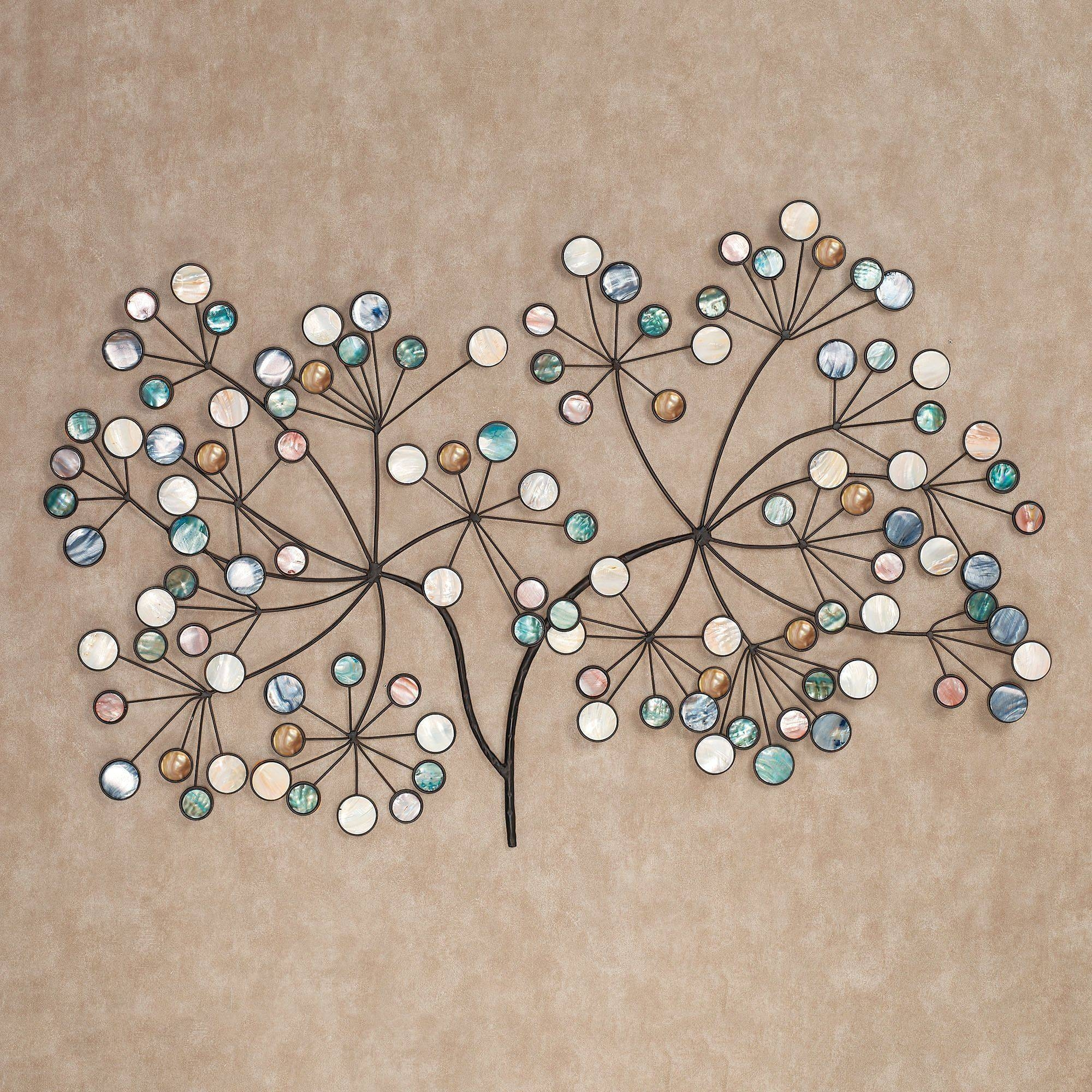 Capizia Branch Metal Wall Sculpture Art Within Most Current Metal Wall Art Branches (View 6 of 20)