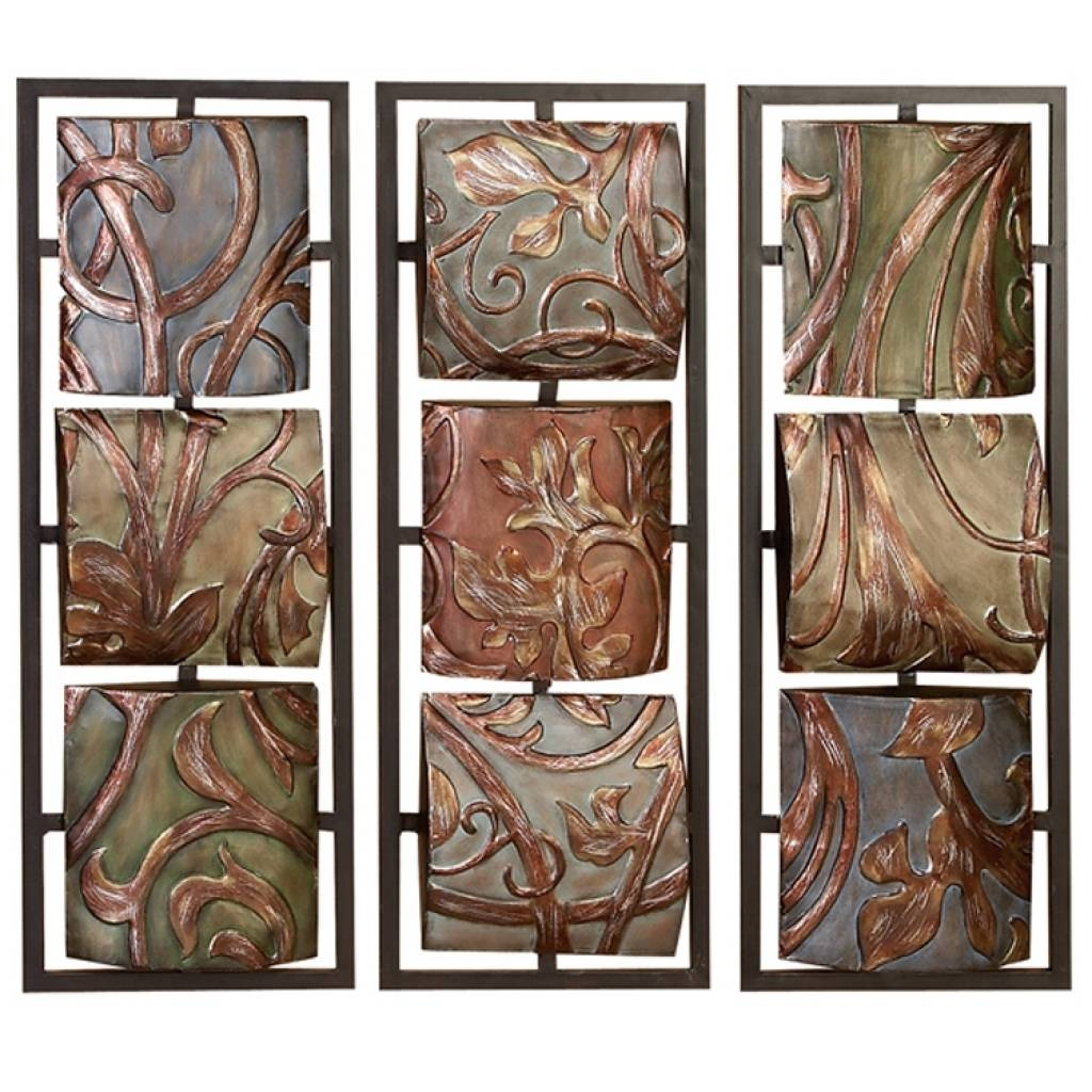 Casa Cortes Sienna Vines Metal Wall Art Decor 13975476 Ornamental Pertaining To Newest Mediterranean Metal Wall Art (View 2 of 20)
