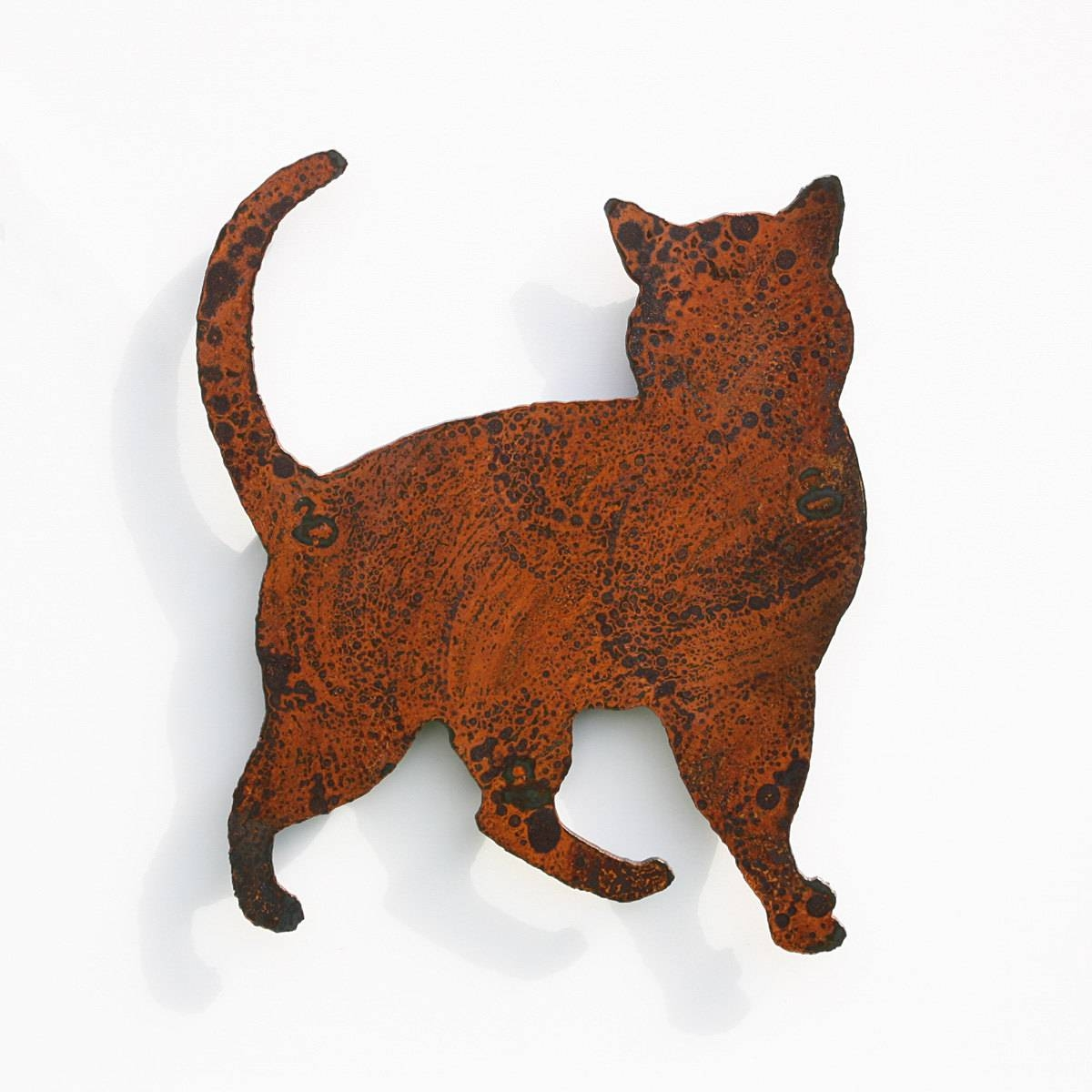 Cat Wall Art Cat Home Decoration Silhouette  (View 10 of 20)