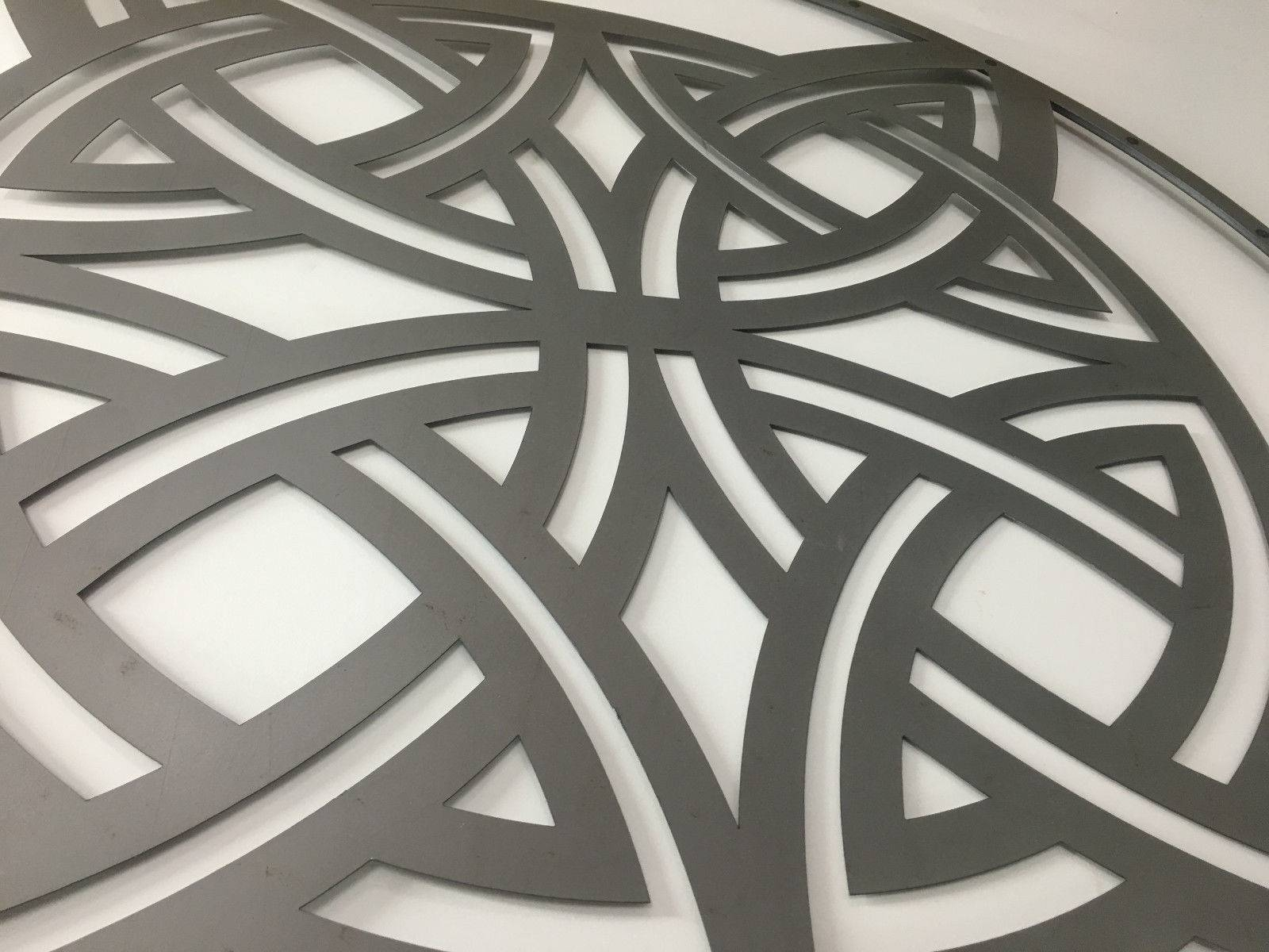 Celtic Knot Lasercut Metal Wall Art 99cm With 2018 Celtic Metal Wall Art (View 12 of 20)