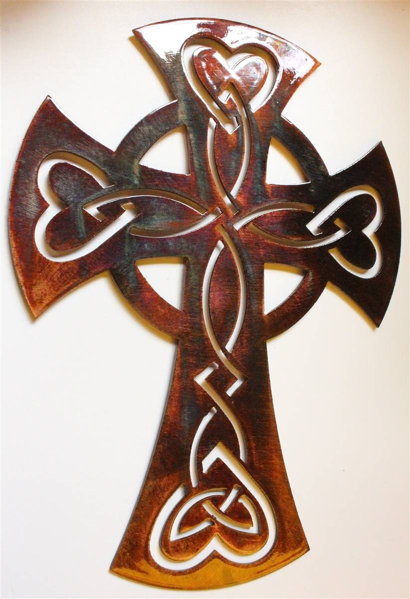 Celticornamentalcross 4 Inside Current Celtic Metal Wall Art (View 5 of 20)