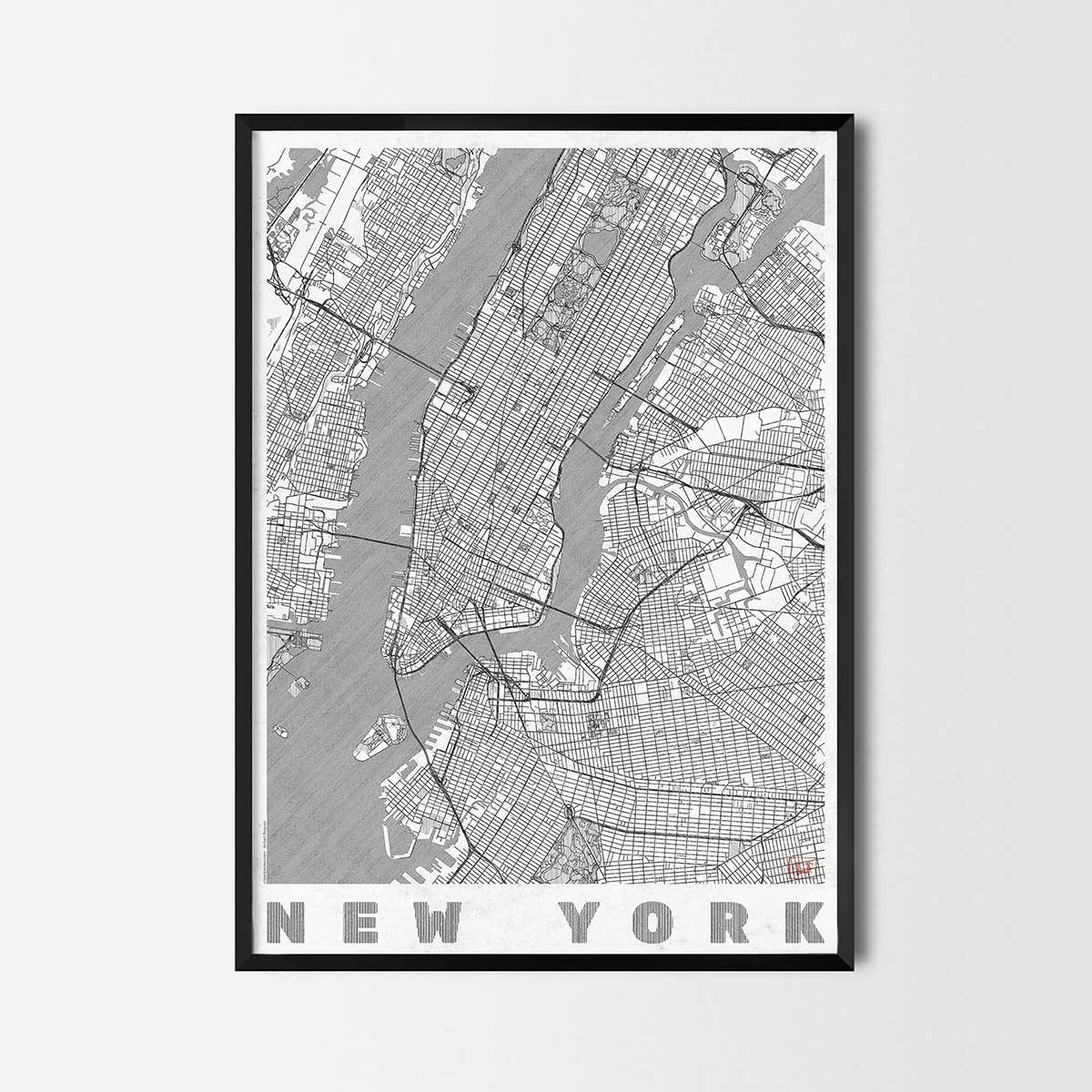 City Art Posters | Map Posters And Art Prints – Gifts For City In Recent City Prints Map Wall Art (View 5 of 20)
