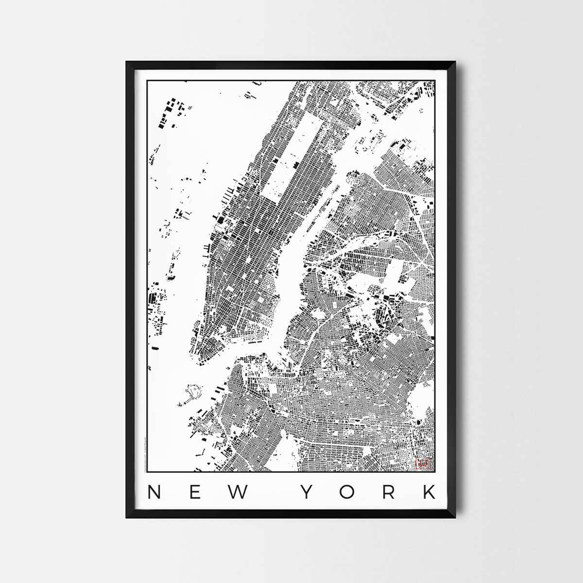 City Art Posters | Map Posters And Art Prints – Gifts For City Inside Most Current City Prints Map Wall Art (View 6 of 20)