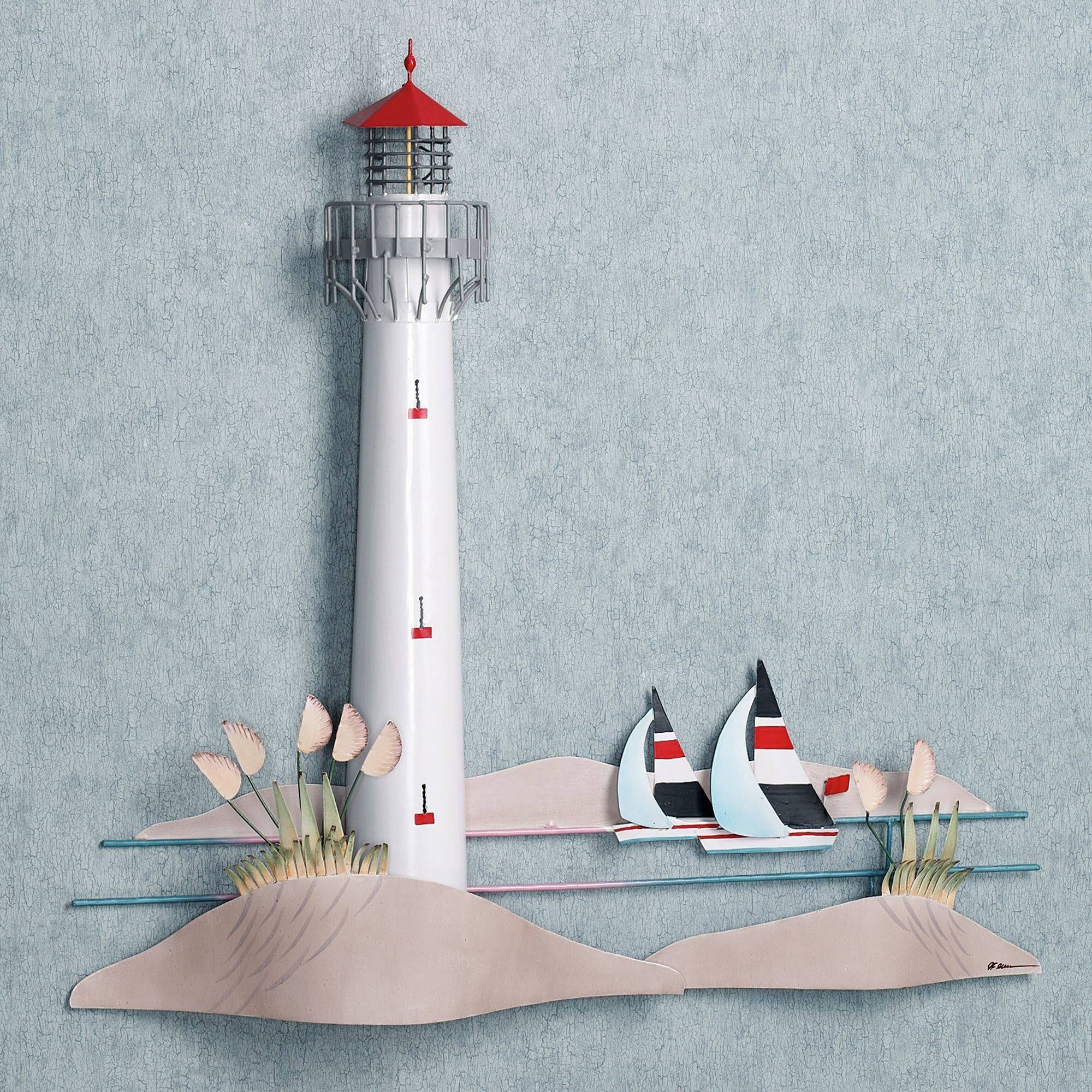 Featured Photo of Lighthouse Metal Wall Art