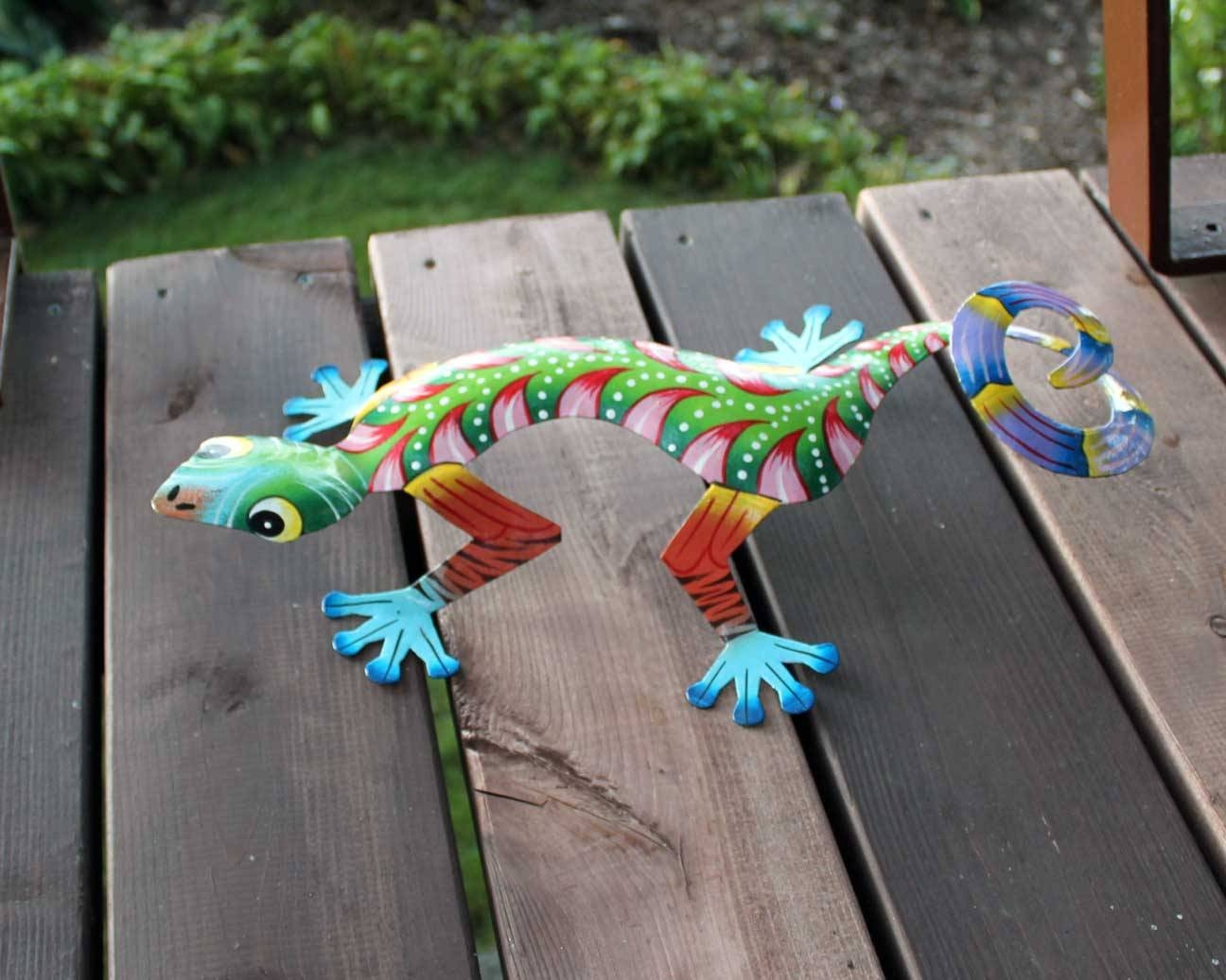Colorful Gecko Wall Art (View 2 of 20)