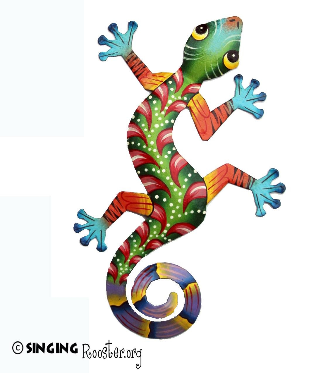 Featured Photo of Lizard Metal Wall Art