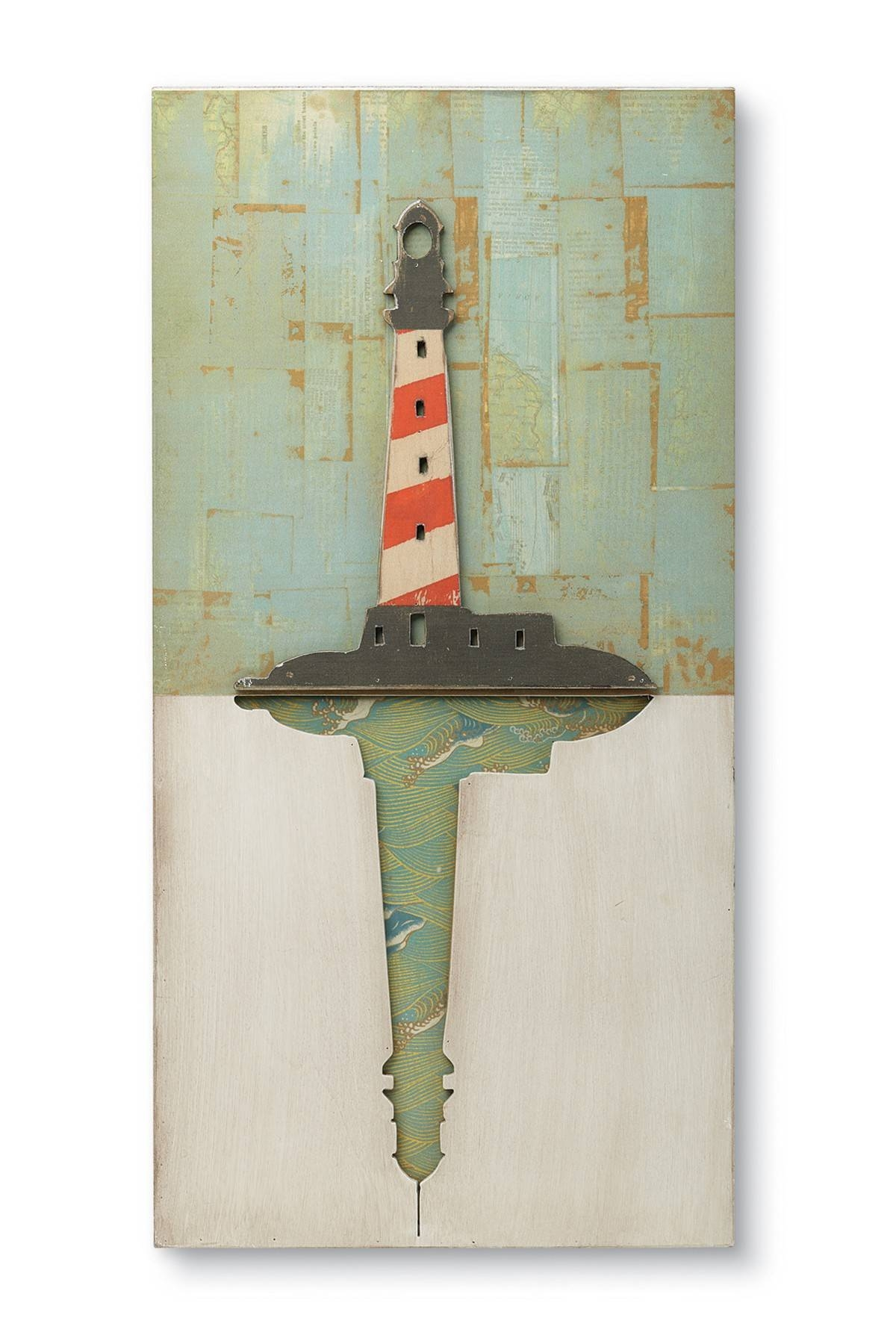Compact Lighthouse Metal Wall Art Lighthouse Iidanhui Wall Intended For Latest Lighthouse Metal Wall Art (View 6 of 20)