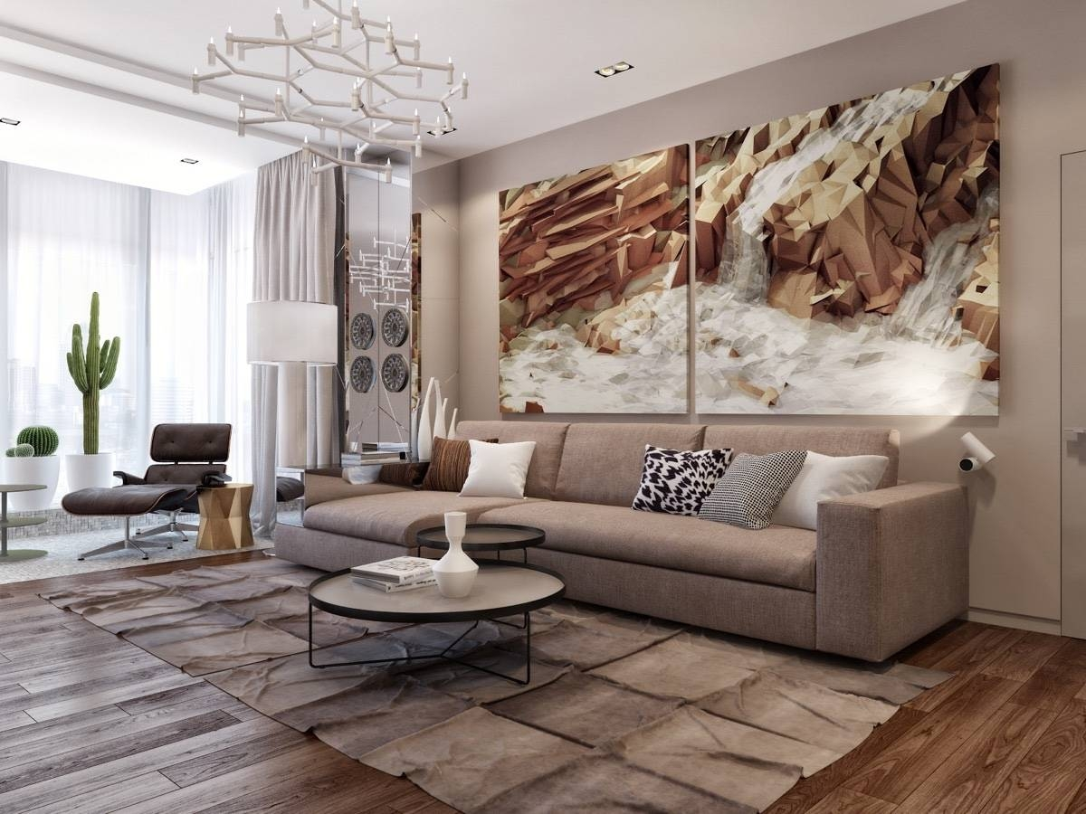 Contemporary Metal Wall Art Cheap Large Canvas Wall Art How To With Regard To Most Recent Living Room Metal Wall Art (View 1 of 20)