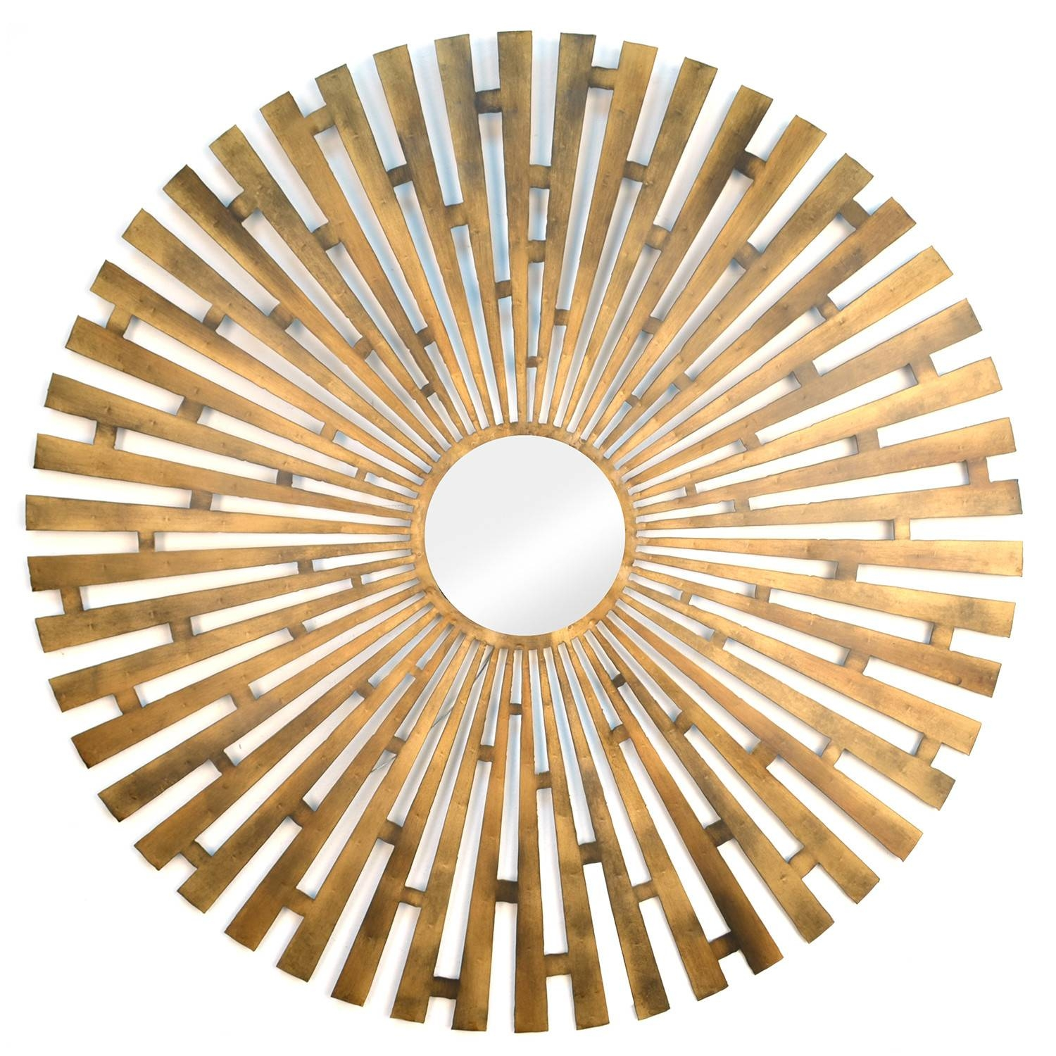 Cream Metal Wall Art Wayfair Geometric Motif Mirror D%c3%a3%c2 Intended For Most Recently Released Geometric Metal Wall Art (View 5 of 20)