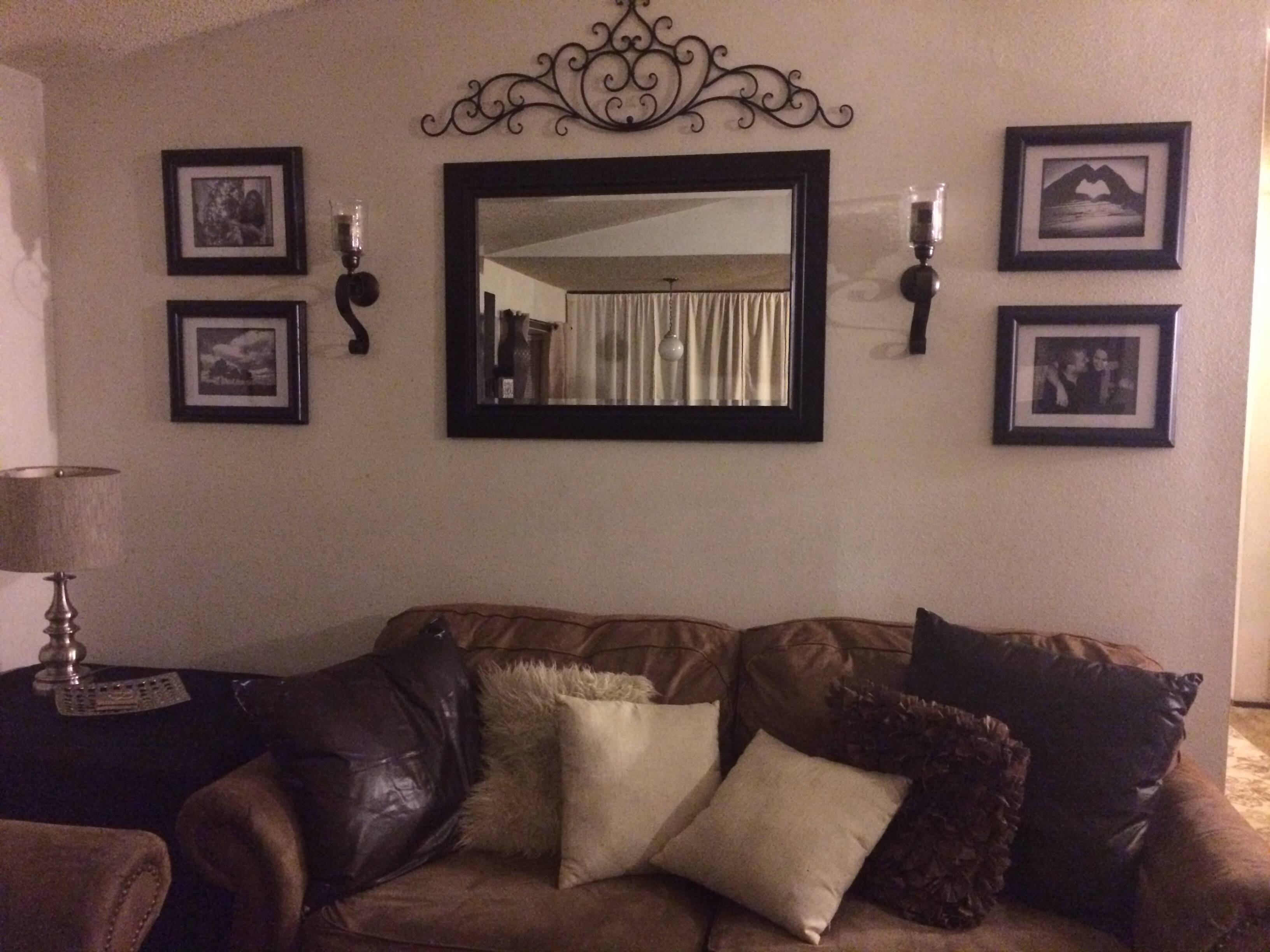 Decor : 61 Handmade Premium Metal Mirror Wall Art Materia High With Regard To Most Recent Metal Wall Art For Living Room (View 6 of 20)