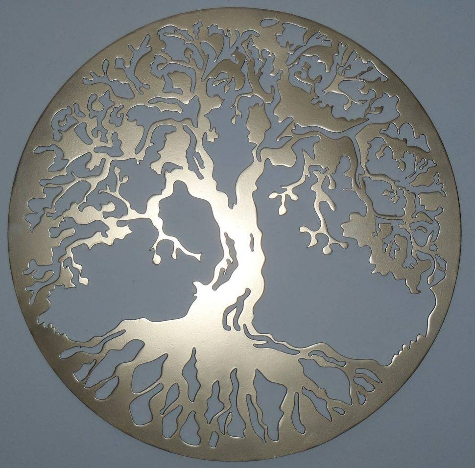 Decor : 83 Interior Popular Design Decoration Exterior Amazing Regarding 2017 Large Tree Of Life Metal Wall Art (View 2 of 20)