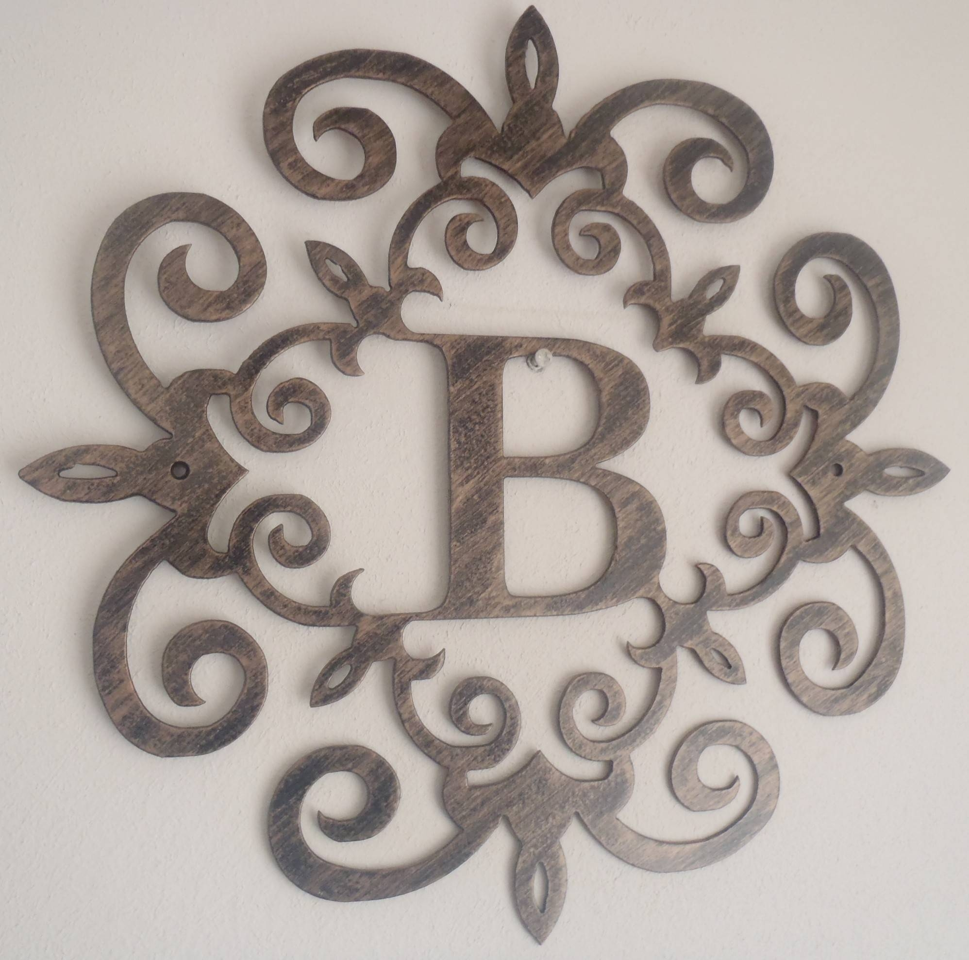 Decorating Large Metal Letters For Wall Decor | Jeffsbakery Within Latest Metal Wall Art Letters (View 1 of 20)