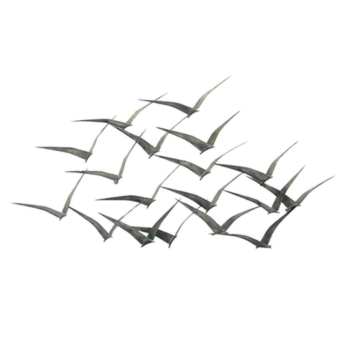 Decoration Of Bird Decal Entrancing Metal Wall Art Flock Of With Regard To Recent Flock Of Seagulls Metal Wall Art (View 1 of 20)