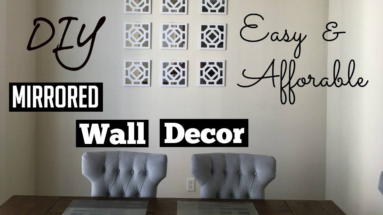 Decorations: Mirrored Wall Decor For Beauty Home Space Within Most Recently Released Pier One Metal Wall Art (View 7 of 20)