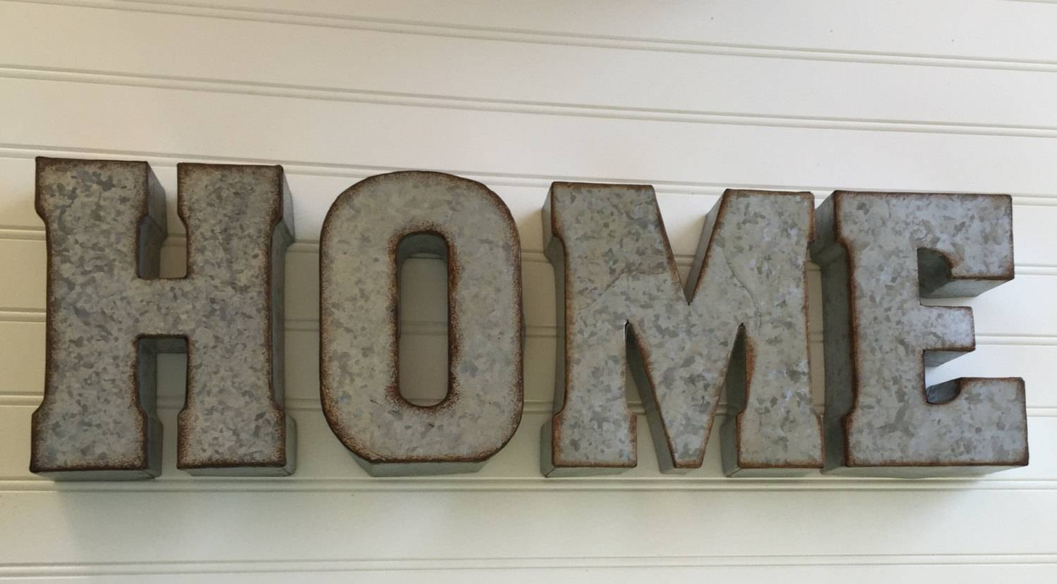 Decorative Metal Letter/ You Pick / Home /wall Letter Sign / Within Most Current Metal Wall Art Letters (View 4 of 20)