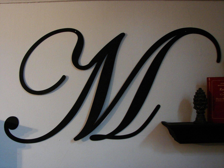 Decorative Metal Wall Art Letters • Walls Decor Intended For Current Metal Wall Art Letters (View 6 of 20)