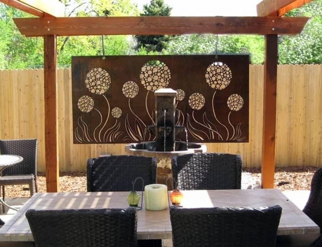Decorative Metal Wall Art Panels Wall Art Designs Outdoor Wall Art In Current Outdoor Metal Wall Art Panels (View 5 of 20)