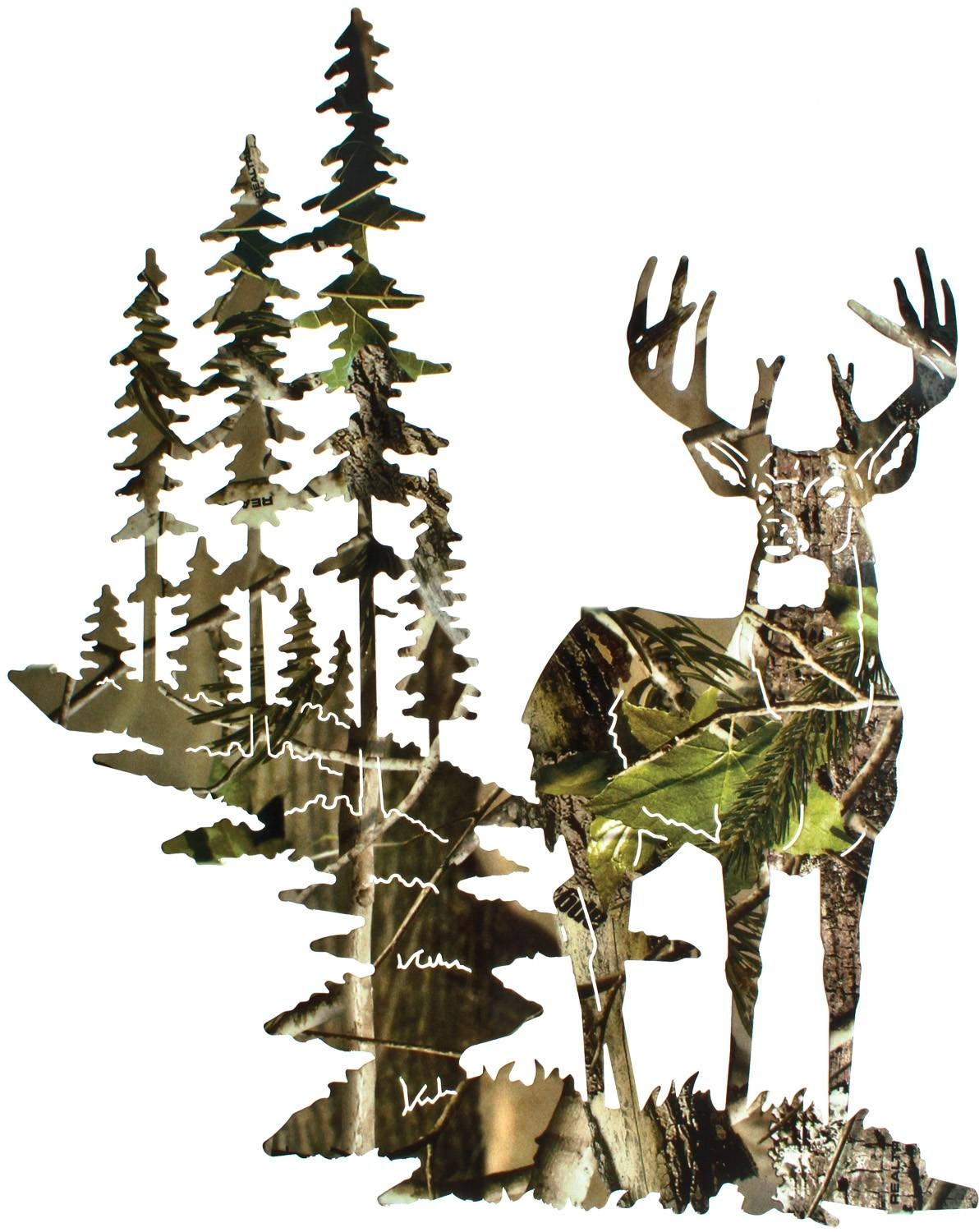 Deer Wall Art, Deer Wall Hangings, Metal Wall Sculptures With Most Recently Released Elk Metal Wall Art (View 2 of 20)
