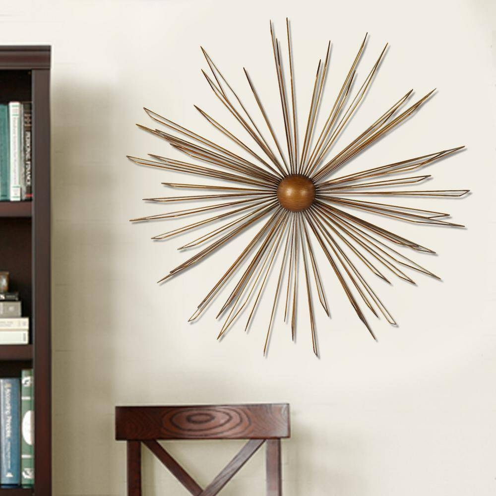 Dimensional Wall Art – Art – The Home Depot Pertaining To Most Up To Date Metal Wall Artwork Decor (View 6 of 20)