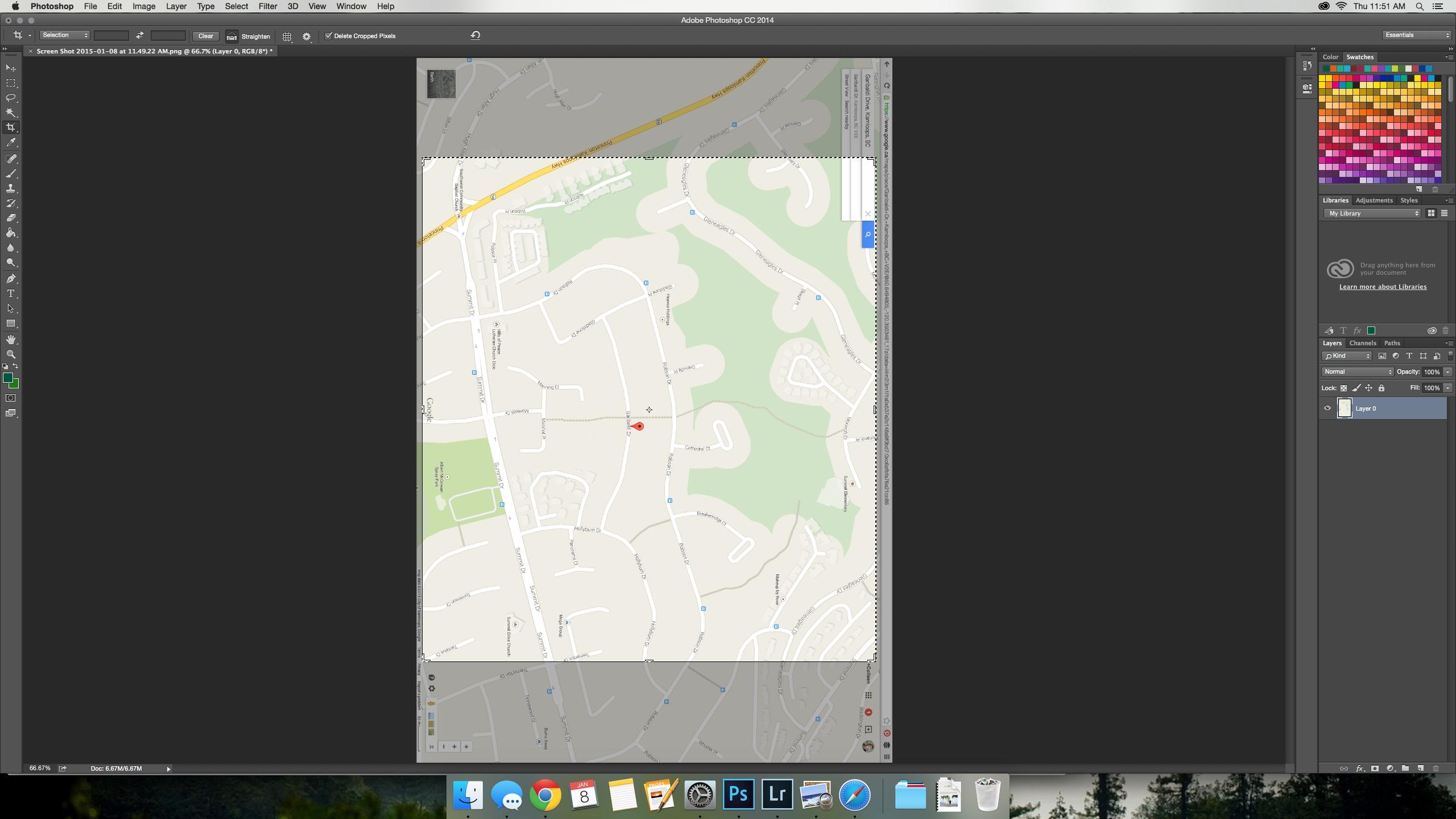 Diy Custom Street Maps Wall Art – Lemon Thistle With Current Street Map Wall Art (View 9 of 20)