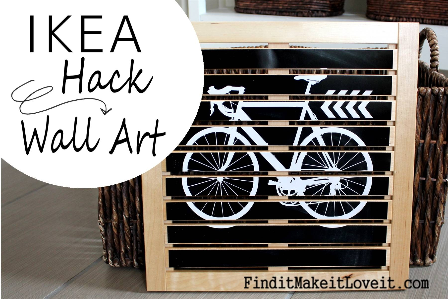 Diy Wall Art (Ikea Hack) – Find It, Make It, Love It Within Most Recent Ikea Metal Wall Art (View 4 of 20)