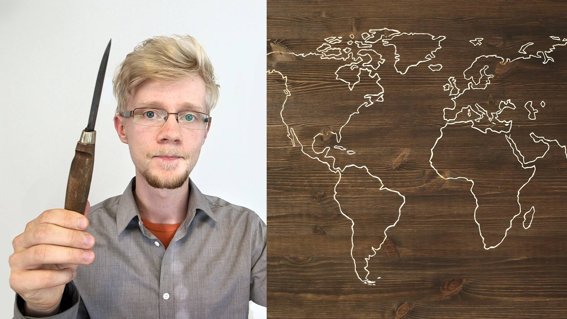 Diy World Map Project – Youtube Pertaining To 2018 String Map Wall Art (View 14 of 20)